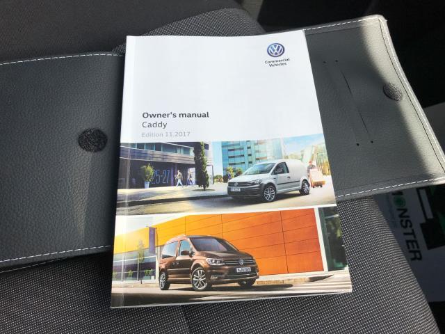 2018 Volkswagen Caddy 2.0TDI BLUEMOTION TECH 102PS TRENDLINE  AIR CON EURO 6 (GM18XDF) Image 25