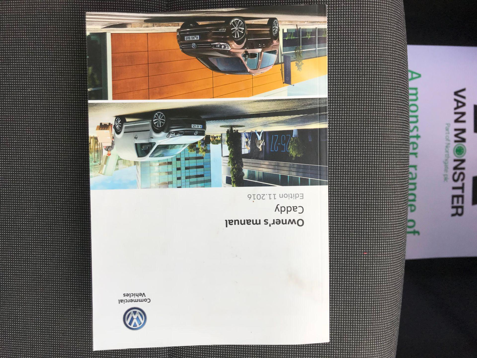 2017 Volkswagen Caddy 2.0 Tdi Bluemotion Tech 102Ps Startline Van (GM66FWU) Image 43