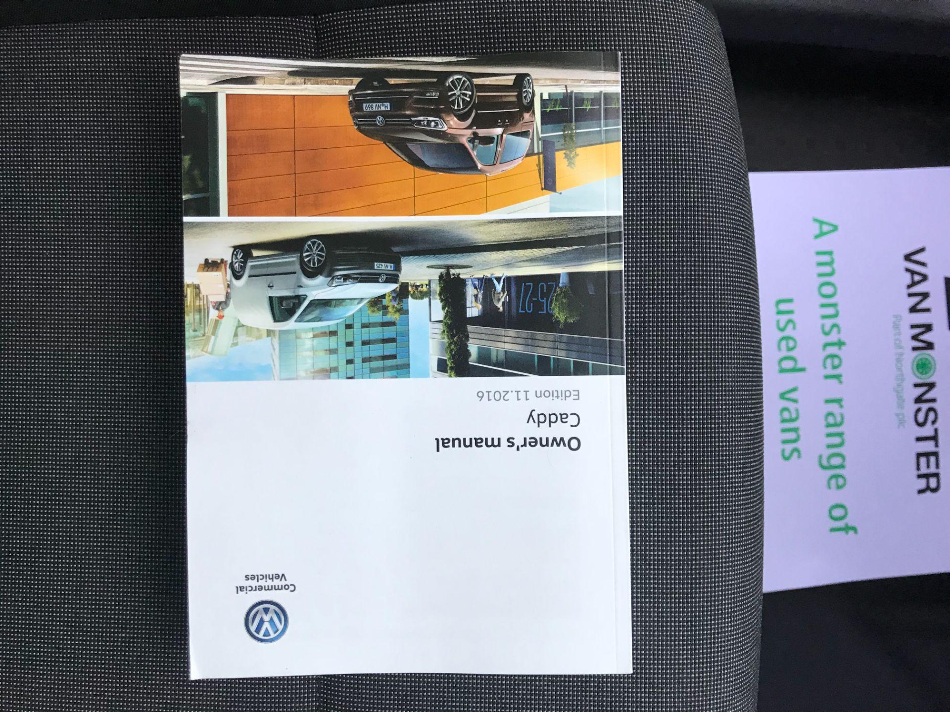 2017 Volkswagen Caddy 2.0 Tdi Bluemotion Tech 102Ps Startline Van (GM66FWZ) Image 38