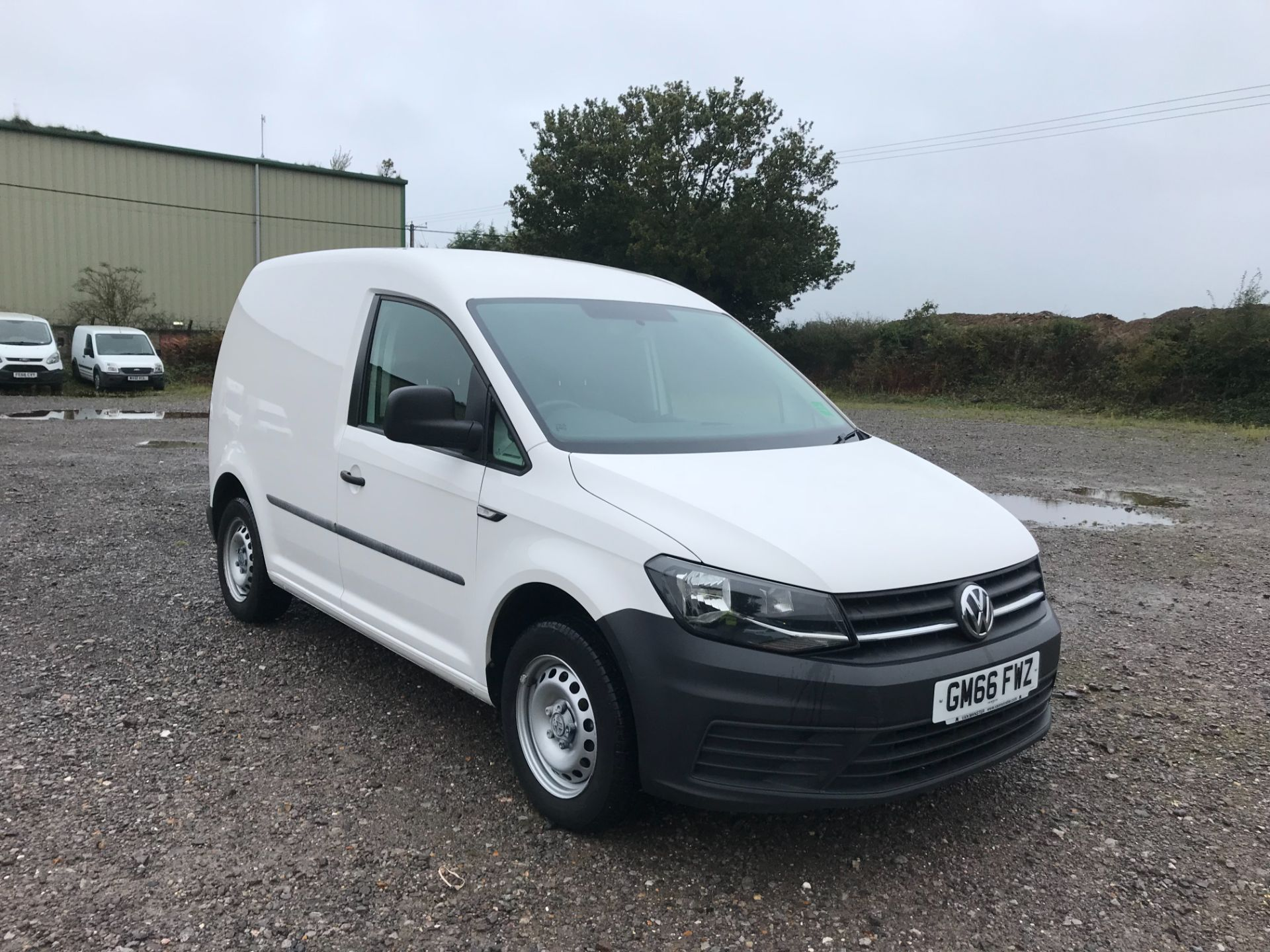 2017 Volkswagen Caddy 2.0 Tdi Bluemotion Tech 102Ps Startline Van (GM66FWZ)