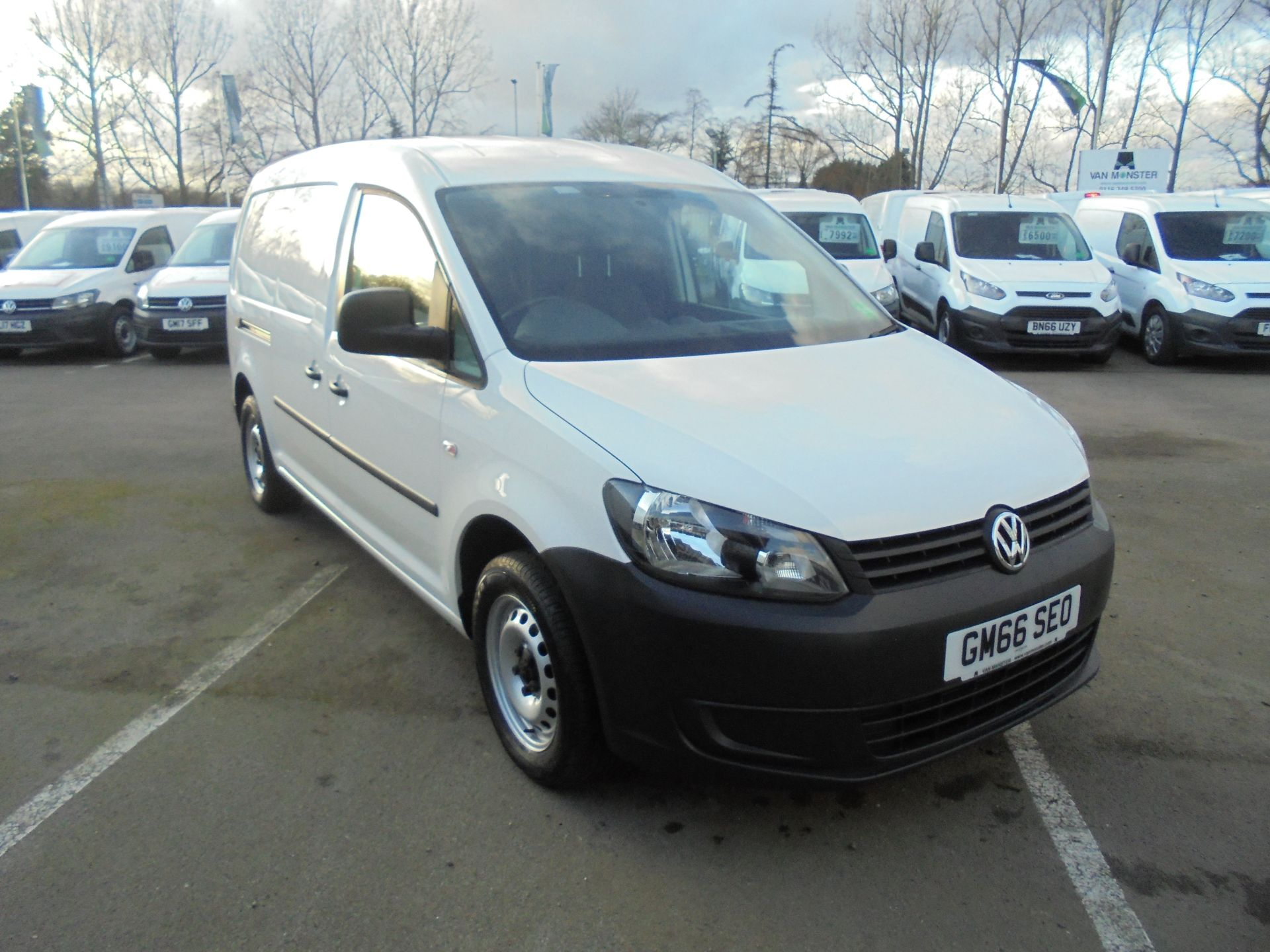 2017 Volkswagen Caddy Maxi 2.0 102PS BLUEMOTION TECH 102 STARTLINE EURO 6 (GM66SEO) Image 1