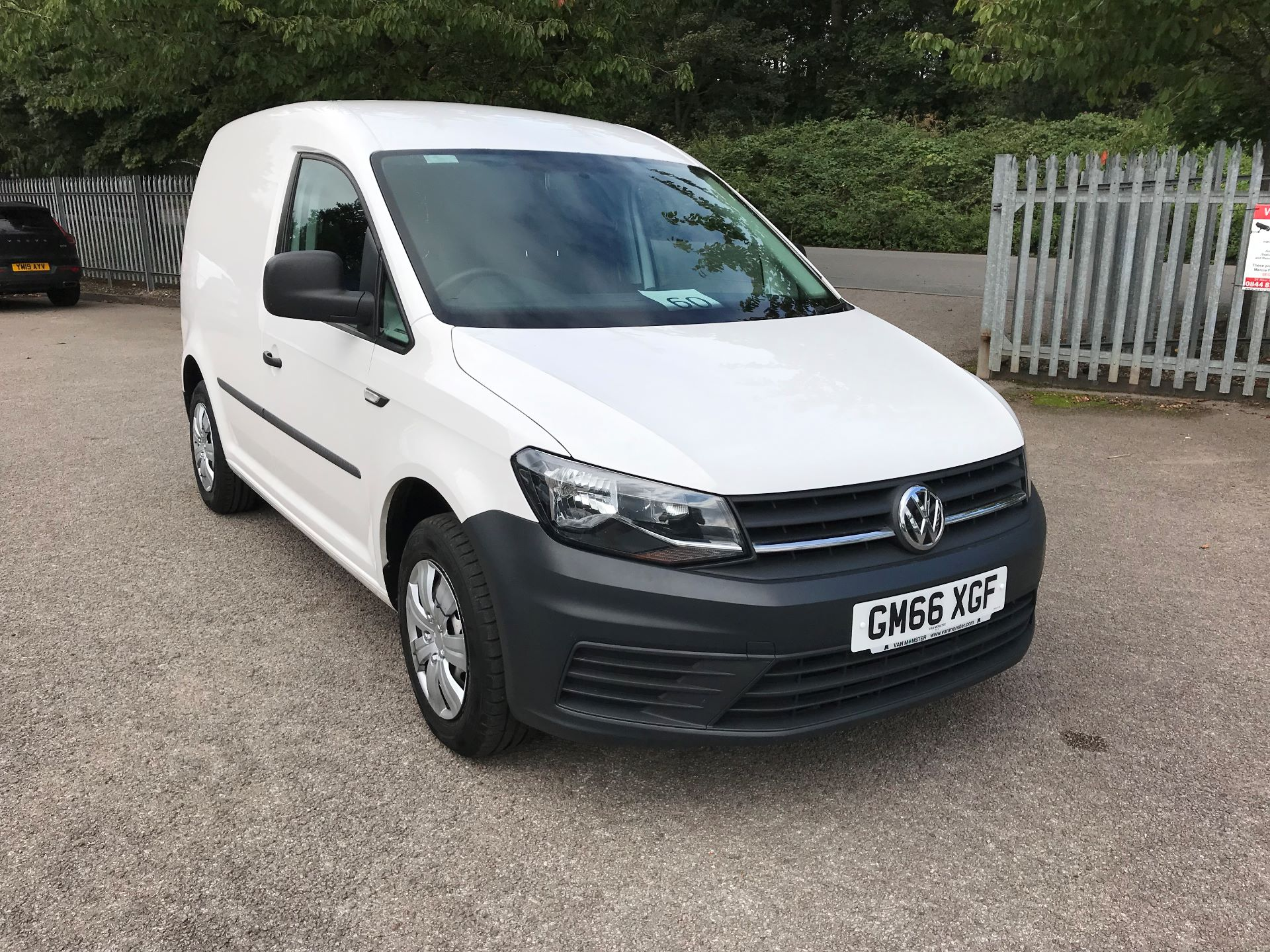 2017 Volkswagen Caddy  2.0 102PS BLUEMOTION TECH 102 STARTLINE EURO 6 (GM66XGF)