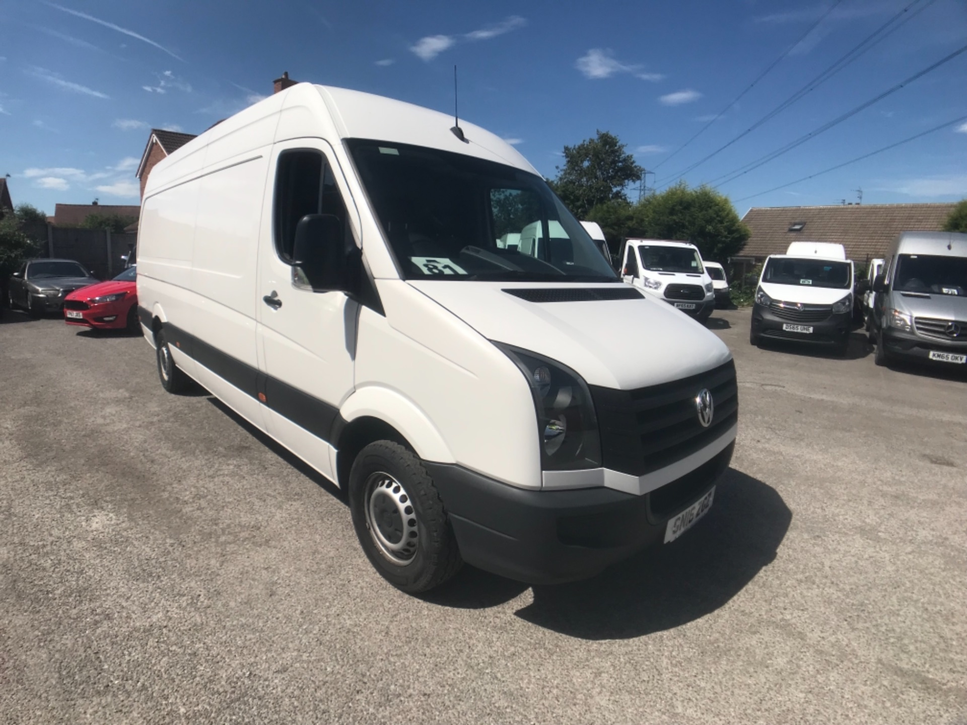 2016 Volkswagen Crafter 2 0 Tdi 136Ps High Roof Van Euro 5