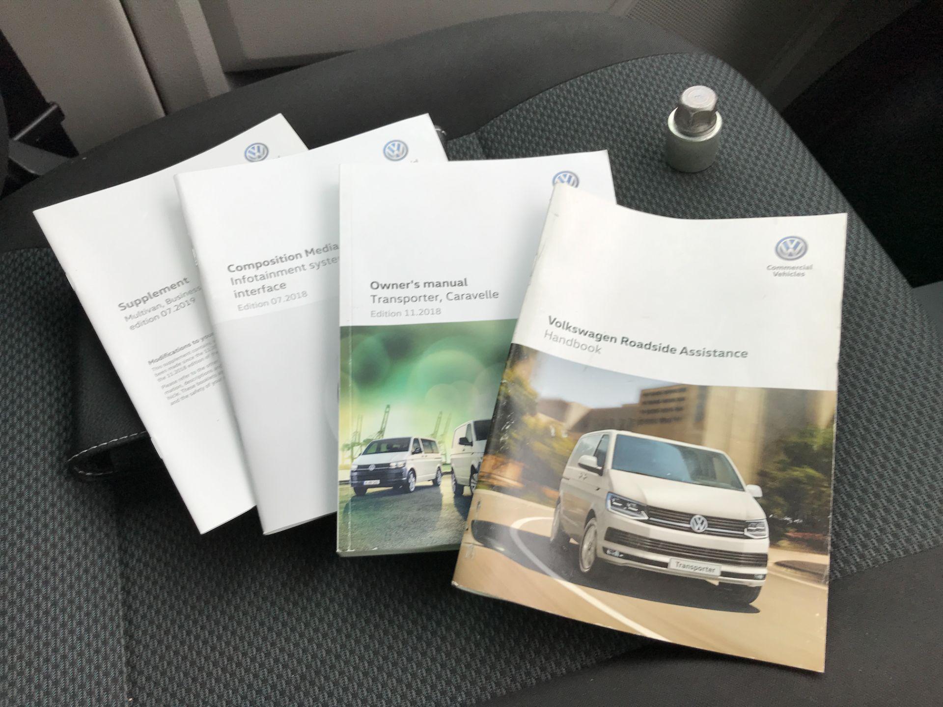 2019 Volkswagen Transporter T32 T6 SWB 2.0TDI BMT 150PS HIGHLINE KOMBI DSG EURO 6 (GX69ZRR) Image 31