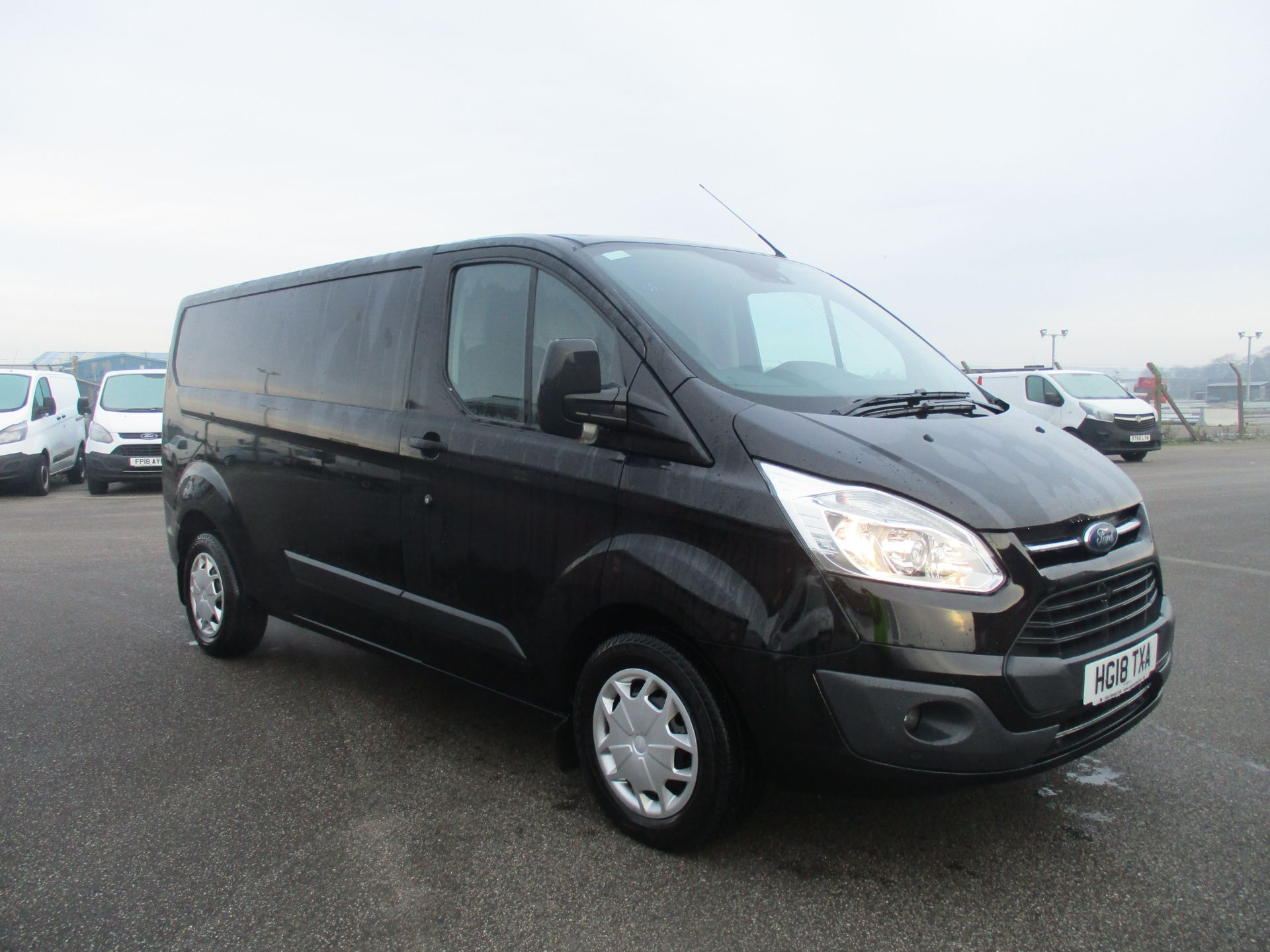 2018 Ford Transit Custom 290 2.0 TDCI 130PS L2 H1 Trend AUTOMATIC Low Roof Panel Van (HG18TXA)