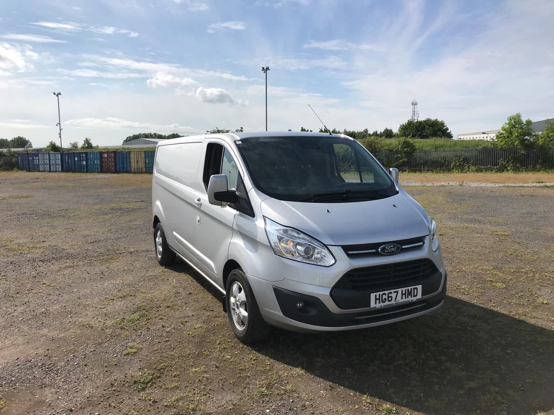 2017 Ford Transit Custom  290 L2 DIESEL FWD 2.0 TDCI 130PS LOW  ROOF LIMITED VAN EURO 6 (HG67HMD)