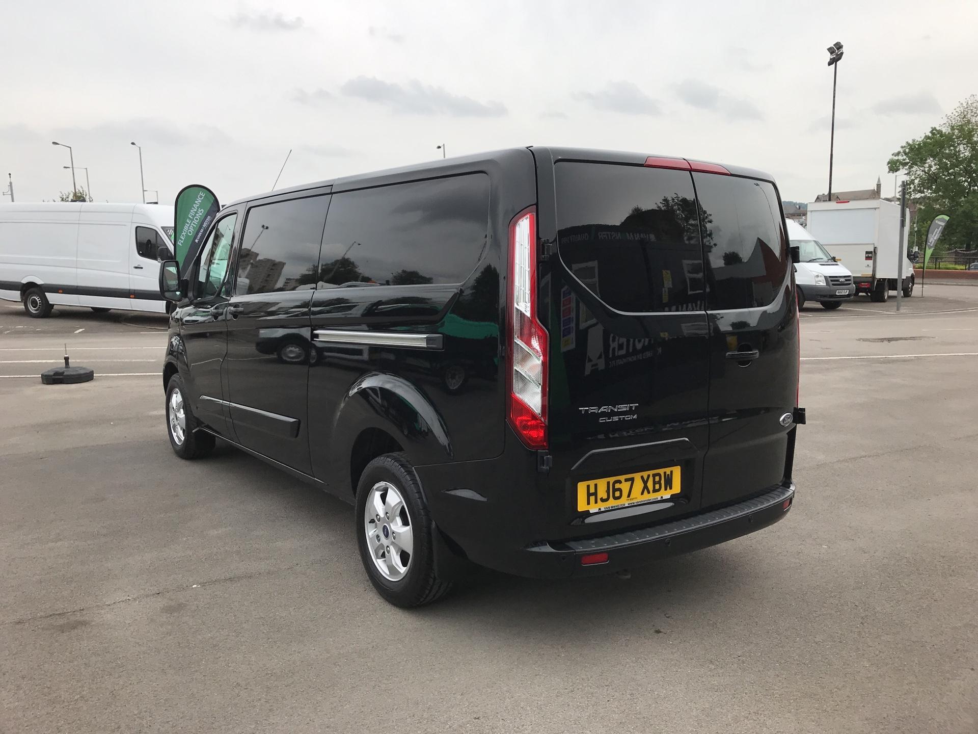 2017 Ford Transit Custom 2.0 Tdci 130Ps Low Roof Limited Van parking sensors  (HJ67XBW) Image 5