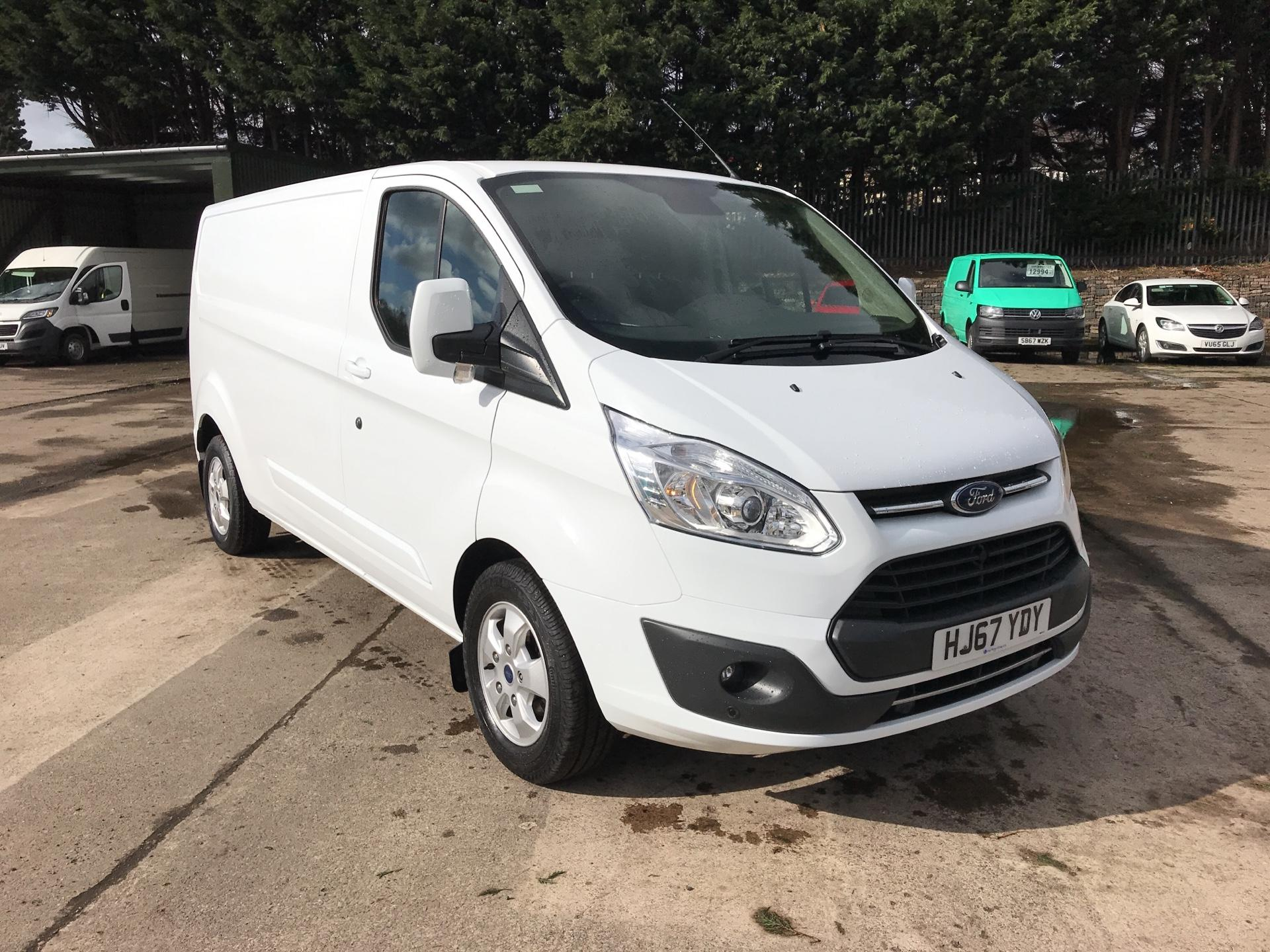 2017 Ford Transit Custom 290 L2 DIESEL FWD 2.0 TDCI 130PS LOW ROOF LIMITED VAN (HJ67YDY)