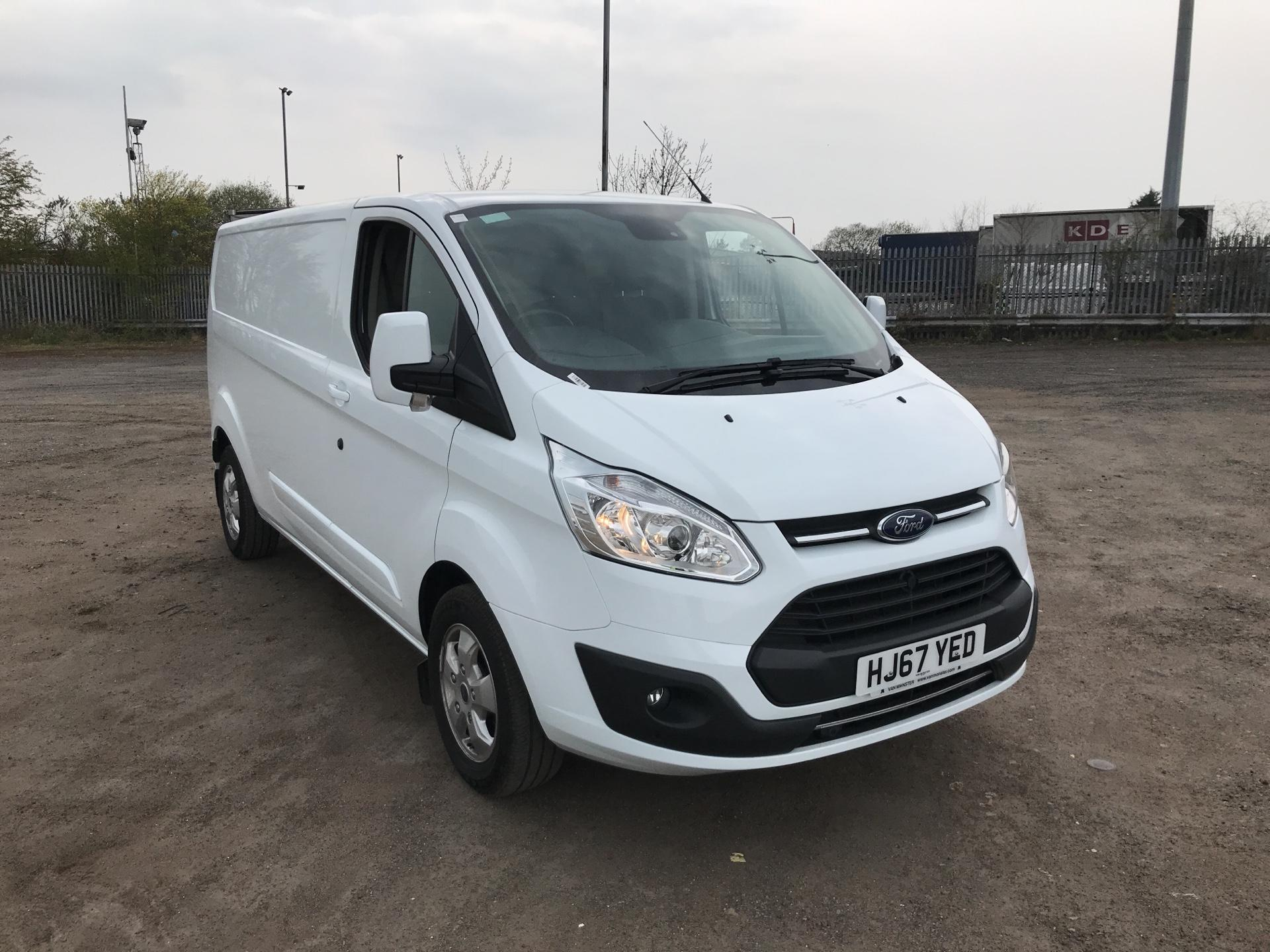2017 Ford Transit Custom  290 L2 DIESEL FWD 2.0 TDCI 130PS LOW  ROOF LIMITED VAN EURO 6 (HJ67YED)