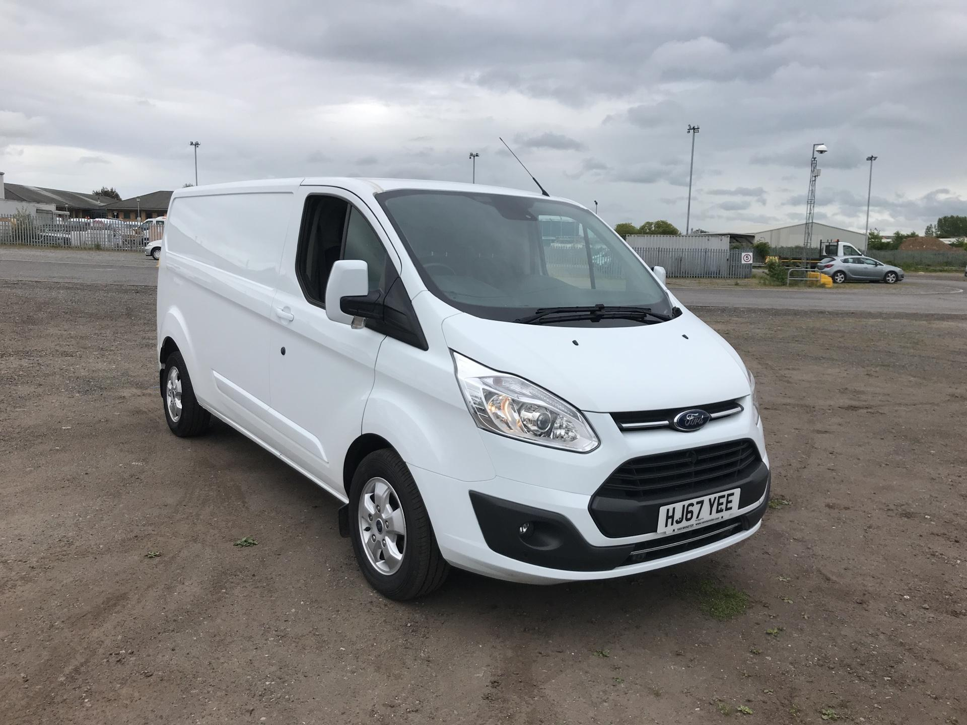 2017 Ford Transit Custom 2.0 Tdci 130Ps Low Roof  Limited Van Euro 6 (HJ67YEE)