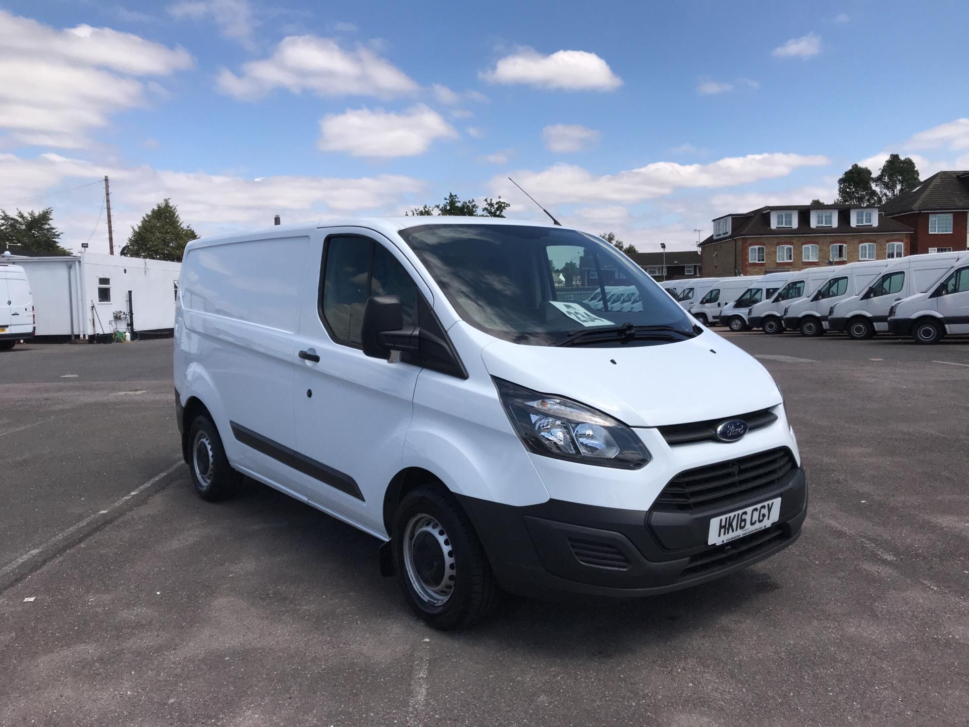 2016 Ford Transit Custom   270 L1 DIESEL FWD 2.2 TDCI 100PS LOW ROOF  EURO 5 (HK16CGY)