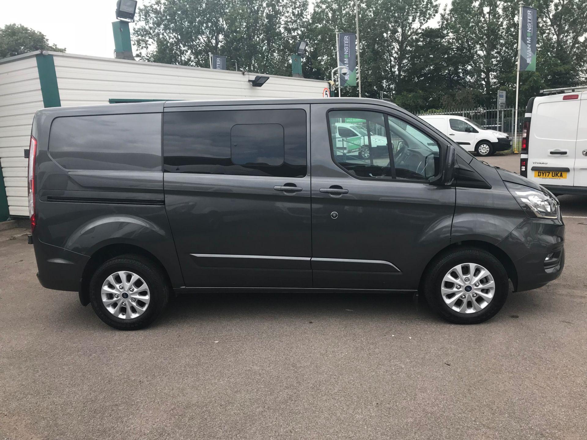 2018 Ford Transit Custom 320 L1 H1 2 0 ECOBLUE 130PS L/R LIMITED CREW VAN