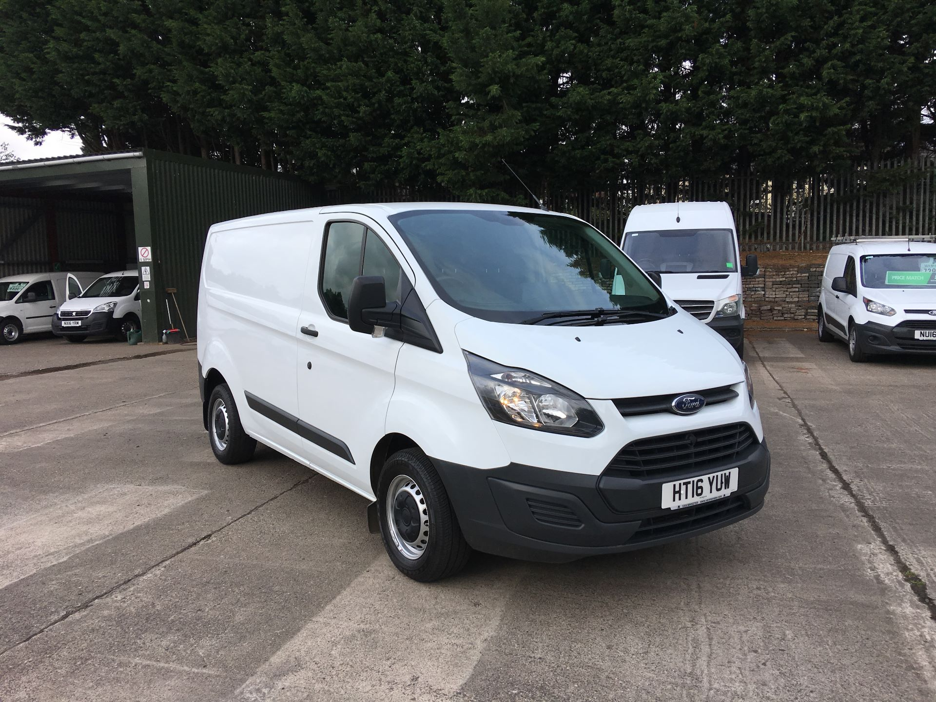 2016 Ford Transit Custom 290 L1 DIESEL FWD 2.2 TDCI 100PS LOW ROOF VAN EURO 5 (HT16YUW)