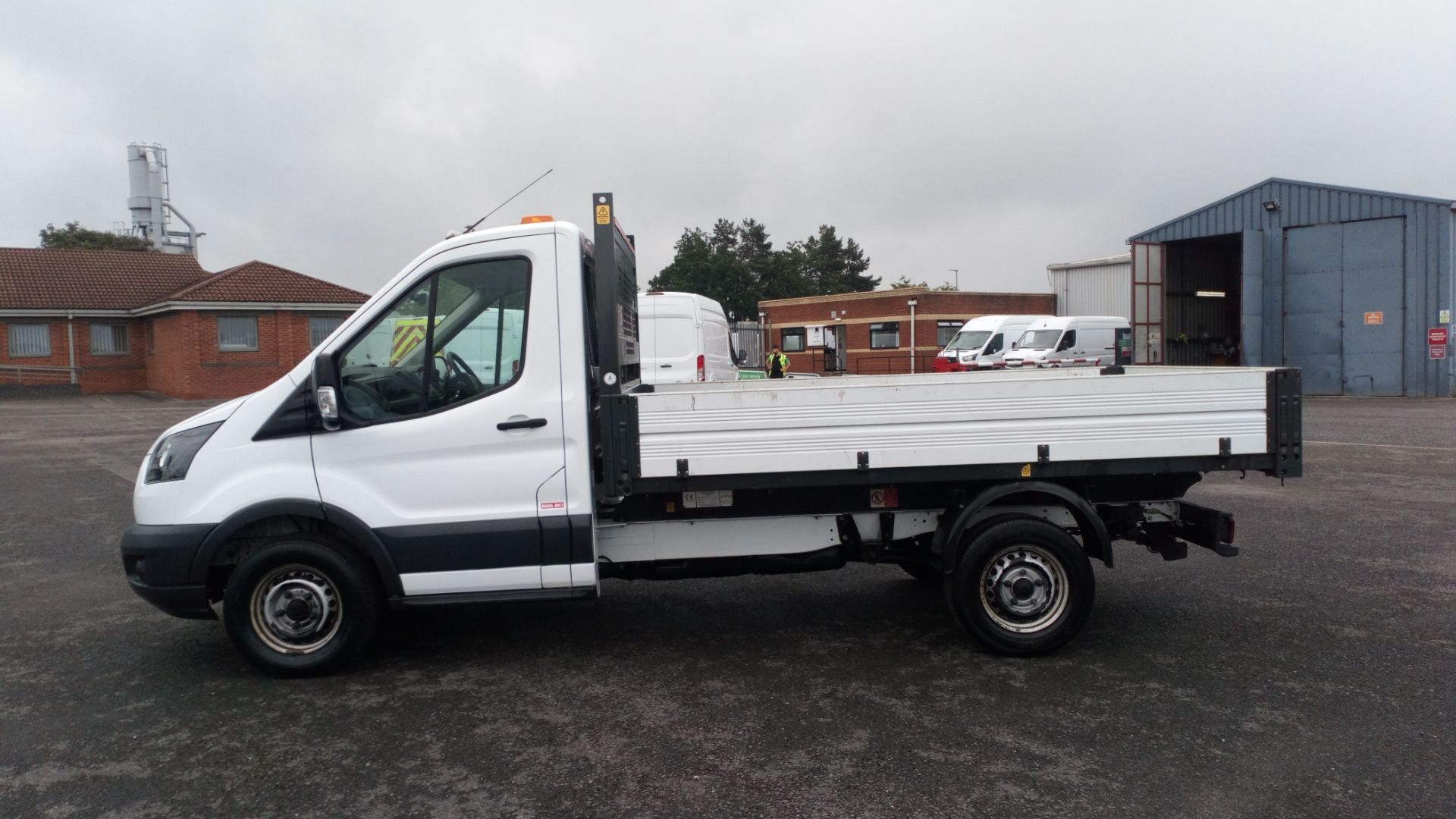2017 Ford Transit 2.0 Tdci One Stop Tipper 1 Way (HV67HHP) Image 4