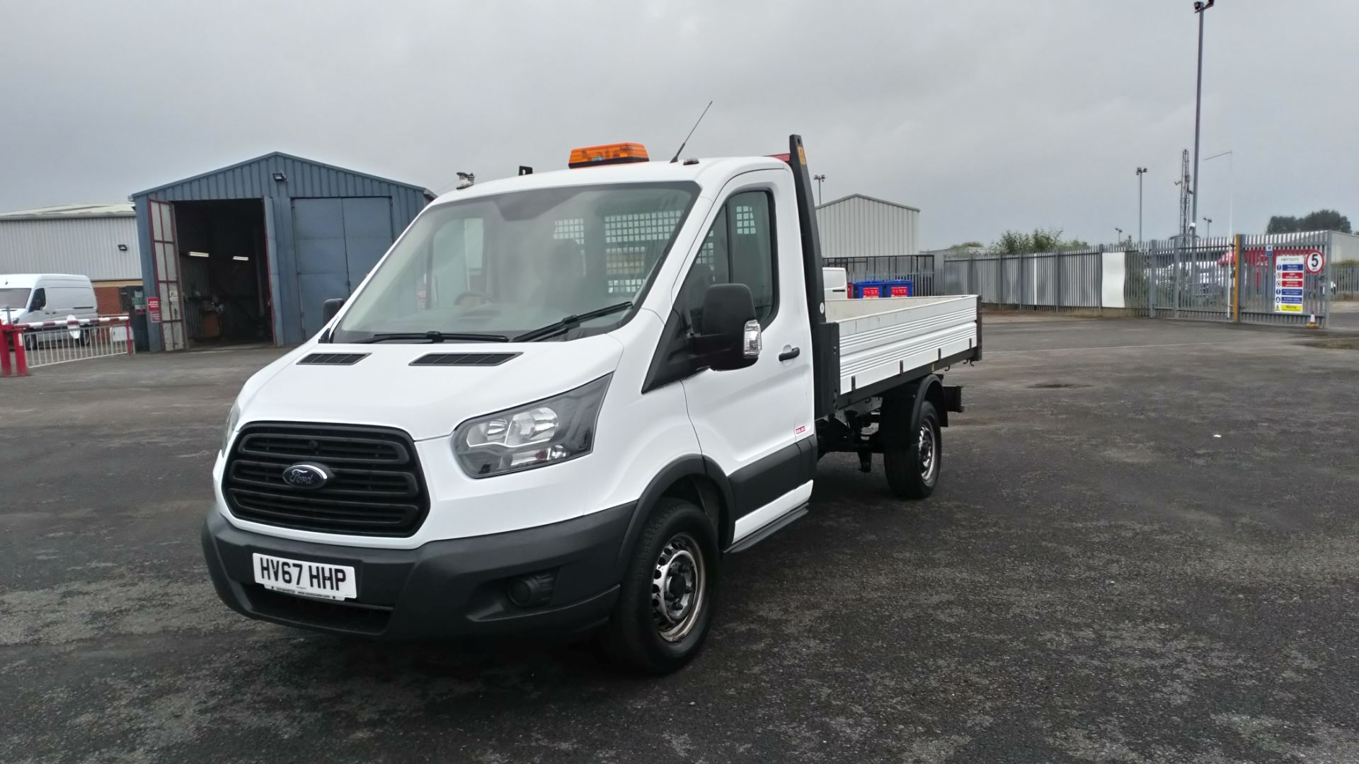 2017 Ford Transit 2.0 Tdci One Stop Tipper 1 Way (HV67HHP) Image 3