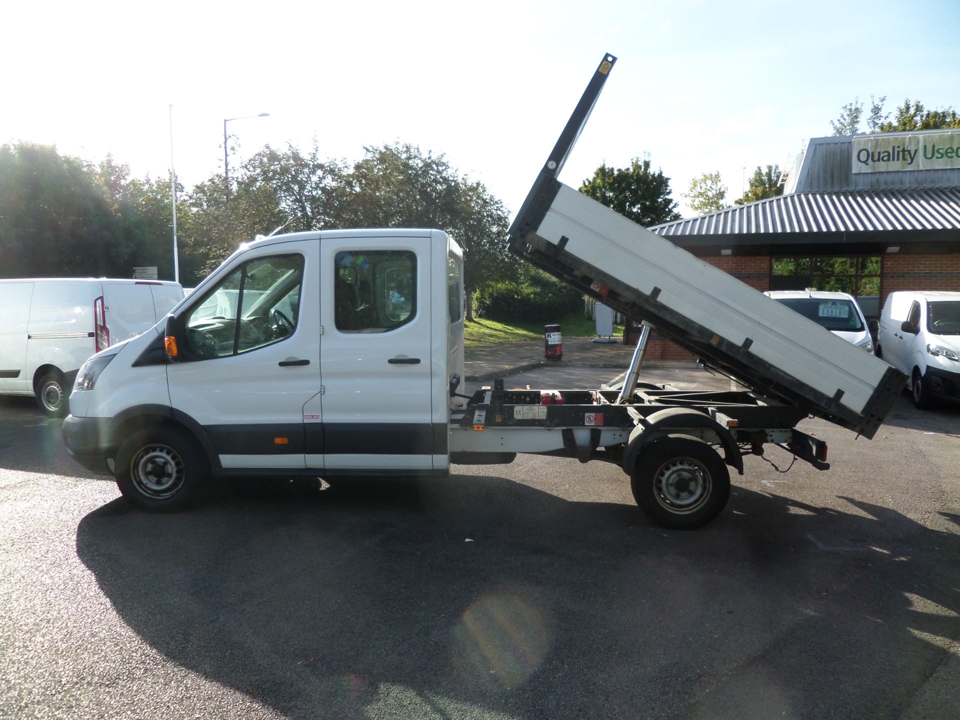 2017 Ford Transit 2.0 Tdci 105Ps H2 Double Cab Tipper Euro 6 (HV67HJC) Image 7