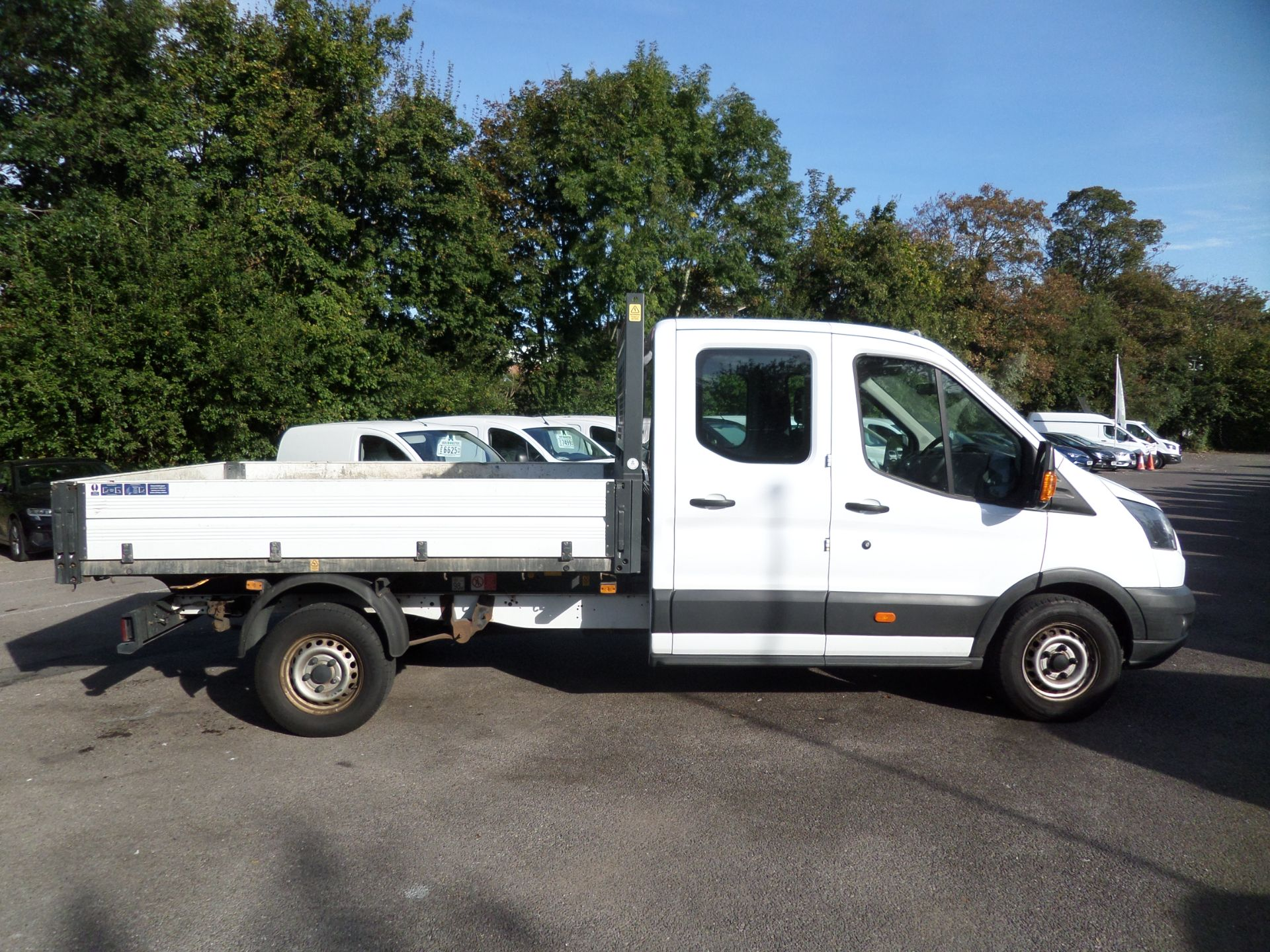 2017 Ford Transit 2.0 Tdci 105Ps H2 Double Cab Tipper Euro 6 (HV67HJC) Image 2