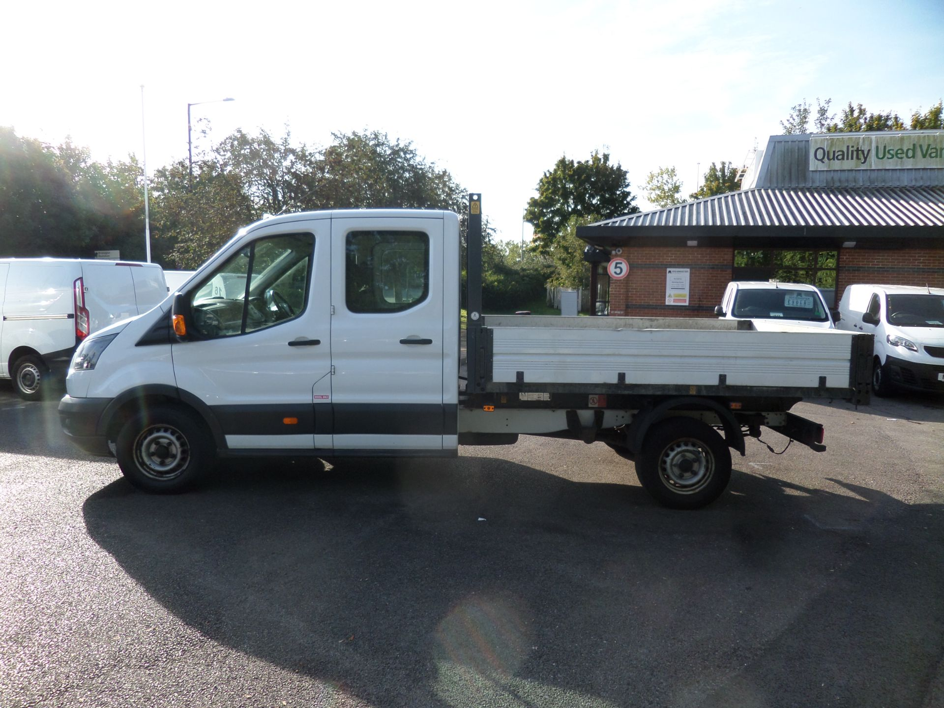 2017 Ford Transit 2.0 Tdci 105Ps H2 Double Cab Tipper Euro 6 (HV67HJC) Image 6