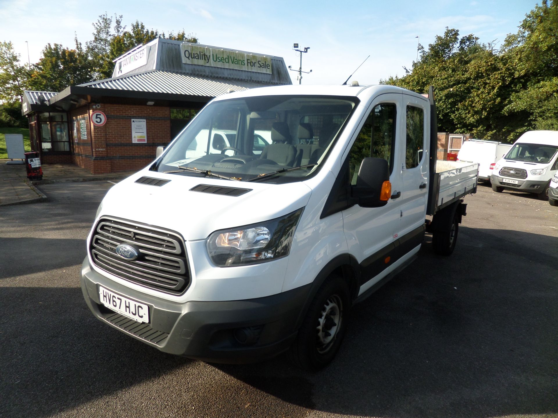 2017 Ford Transit 2.0 Tdci 105Ps H2 Double Cab Tipper Euro 6 (HV67HJC) Image 10