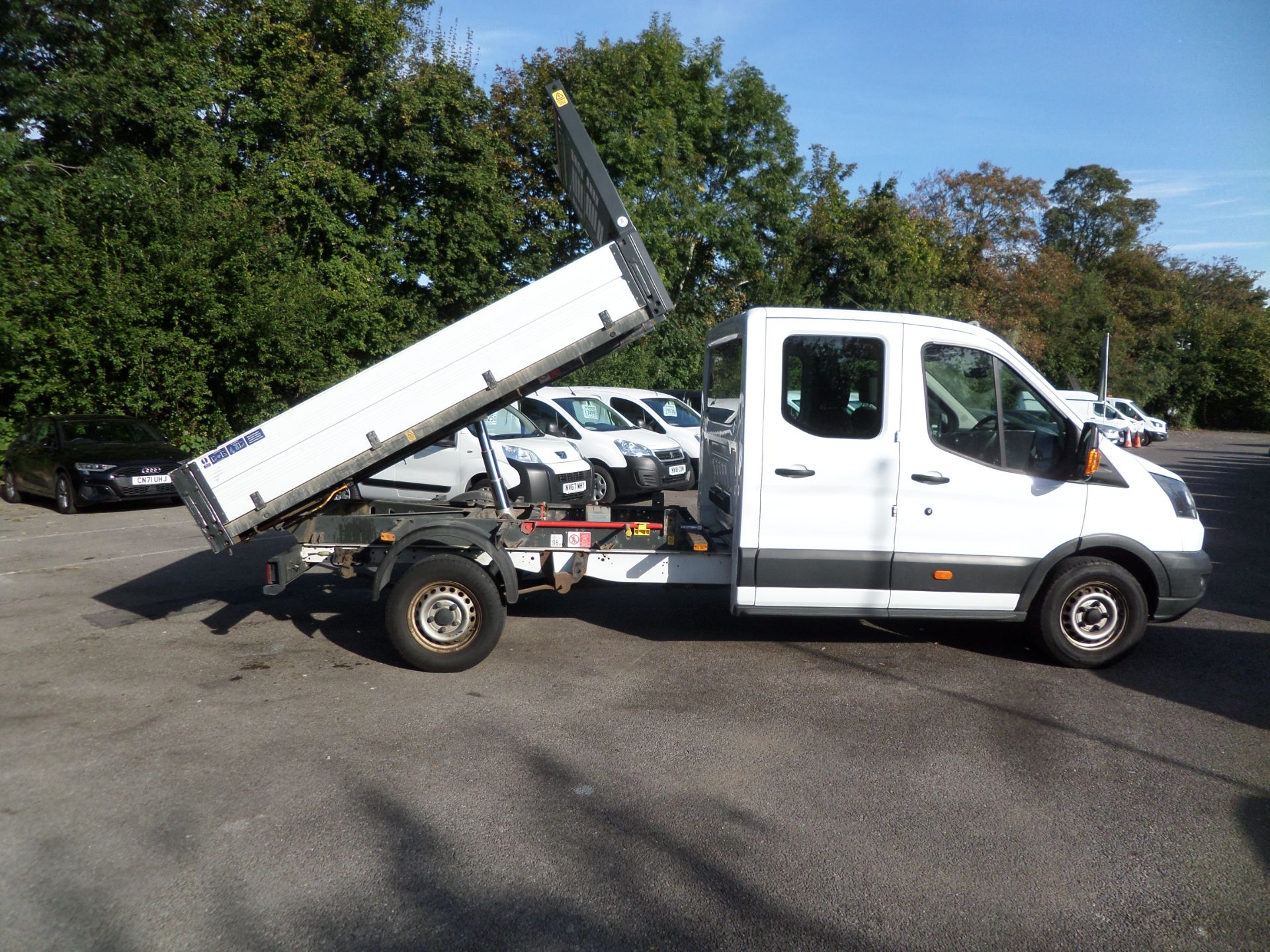 2017 Ford Transit 2.0 Tdci 105Ps H2 Double Cab Tipper Euro 6 (HV67HJC) Image 3