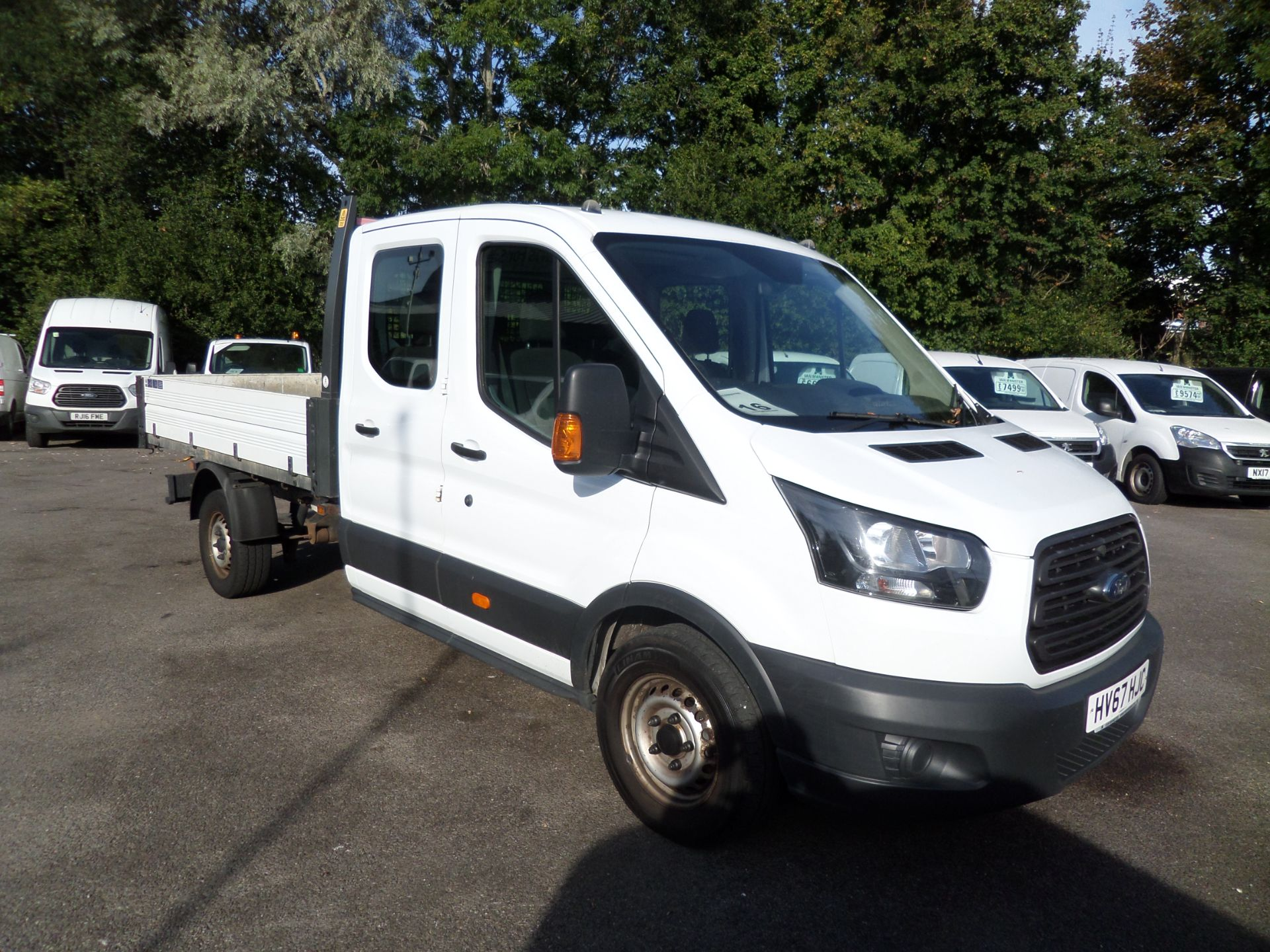 2017 Ford Transit 2.0 Tdci 105Ps H2 Double Cab Tipper Euro 6 (HV67HJC) Image 1