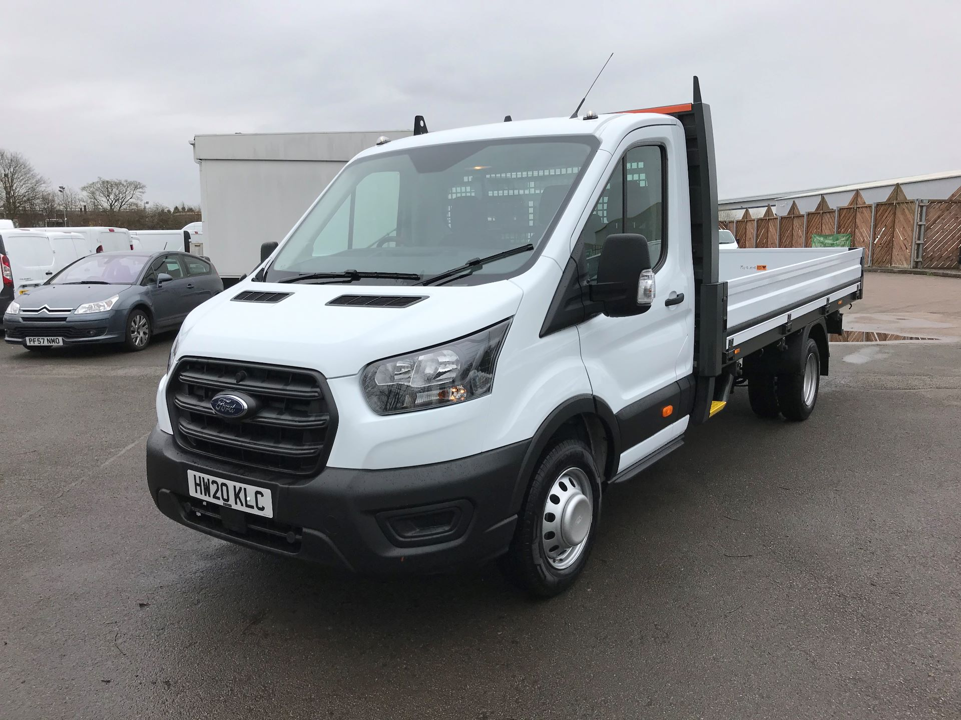 2020 Ford Transit 350 L4 DROP SIDE 130PS EURO 6 (HW20KLC) Image 3
