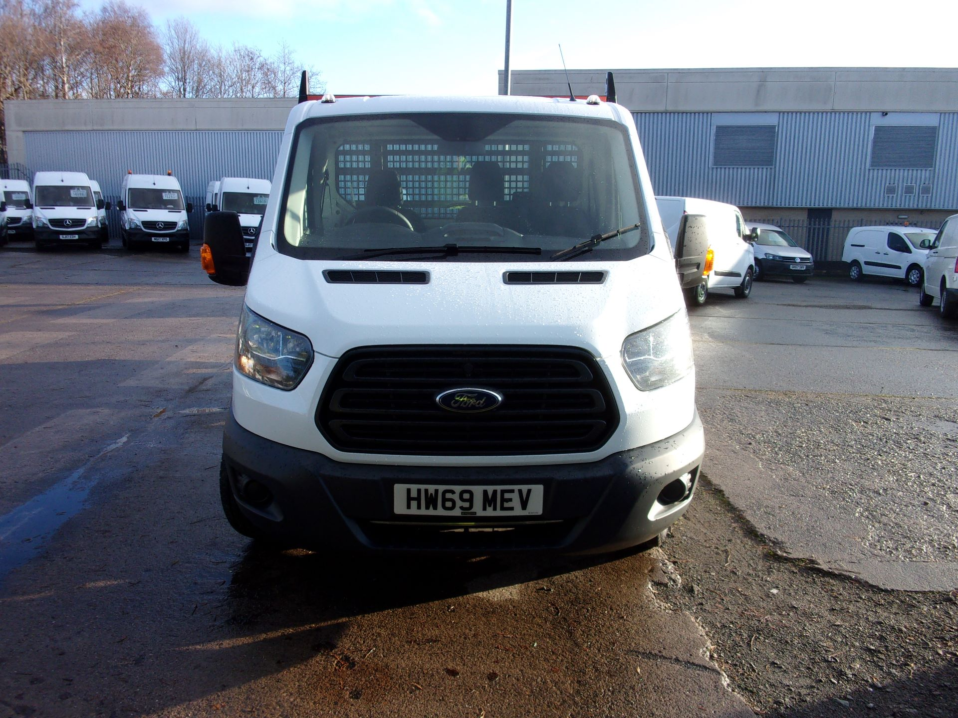 2019 Ford Transit 350 L4 DIESEL FWD 2.0 TDCI 130PS DROPSIDE EURO 6 (HW69MEV) Thumbnail 15