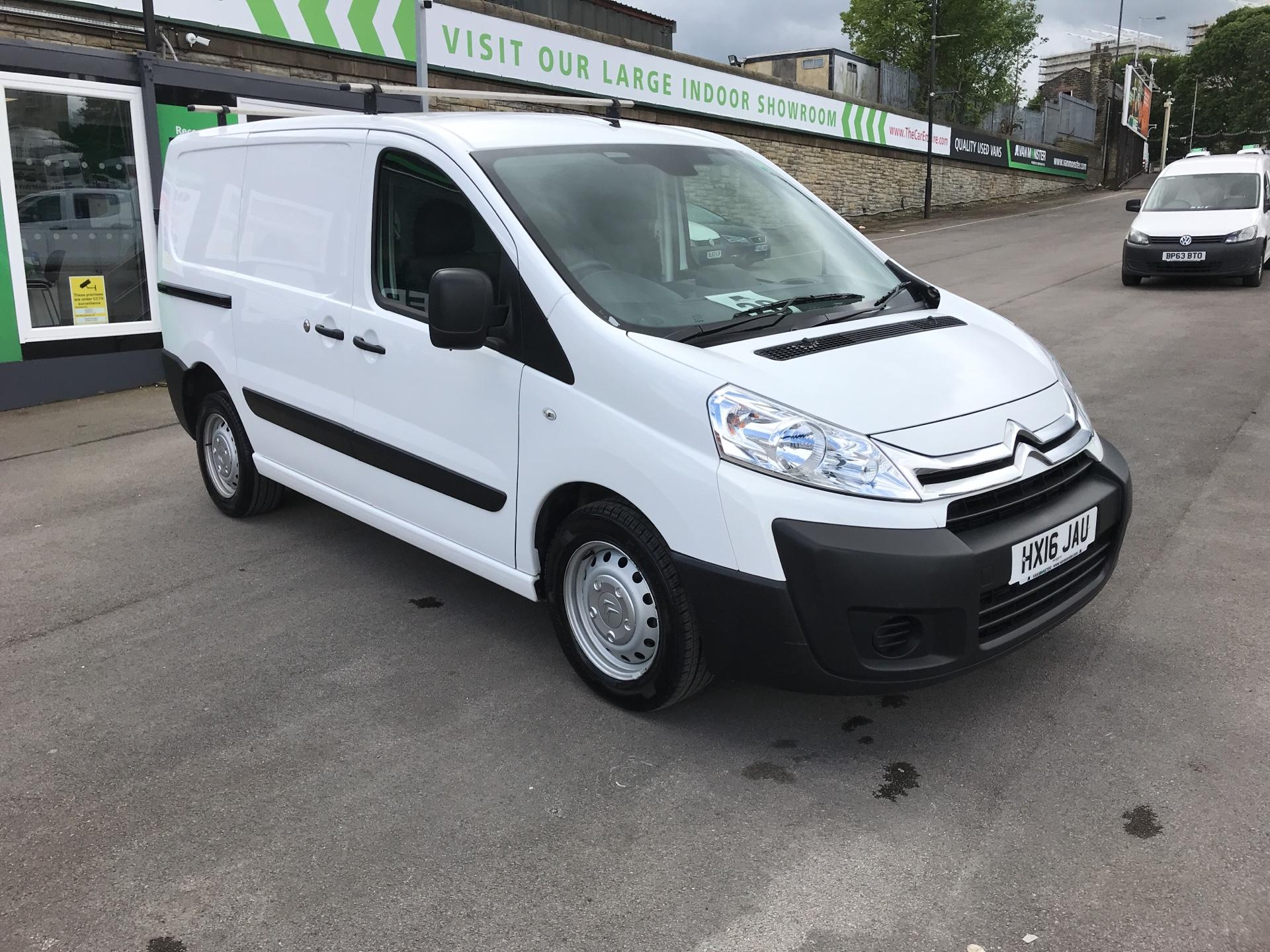 2016 Citroen Dispatch 1000 1.6 Hdi 90 H1 Van Enterprise (HX16JAU)