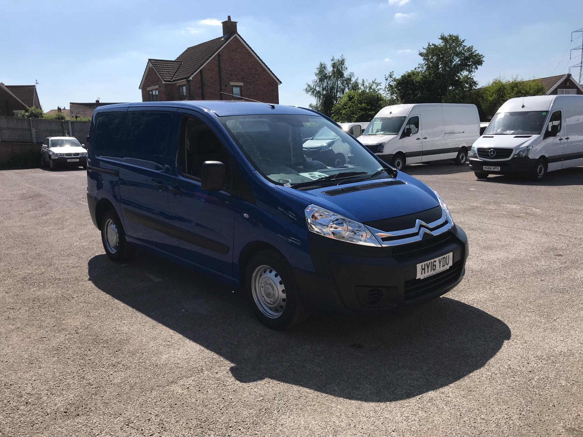 2016 Citroen Dispatch 1000 1.6 Hdi 90 H1 Van Enterprise EORO 4/5 (HY16YDU)