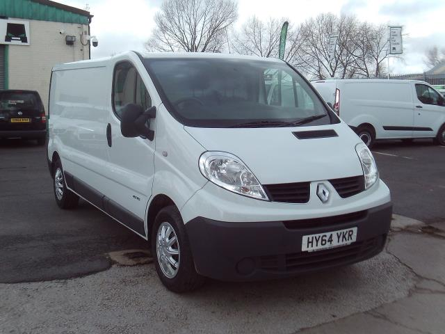 2014 Renault Trafic LL29 LWB FLAT ROOF 115PS (HY64YKR)