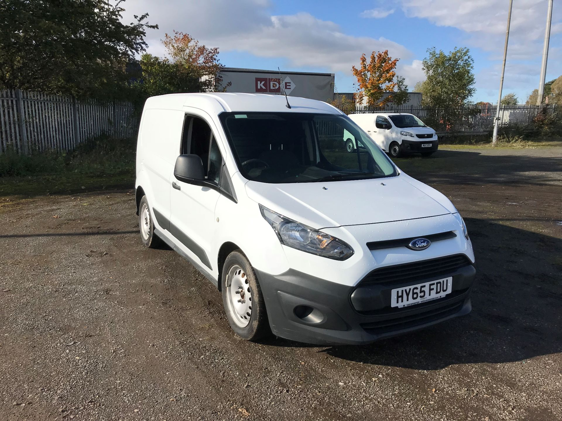 2015 Ford Transit Connect 1.6 Tdci 75Ps Van (HY65FDU)