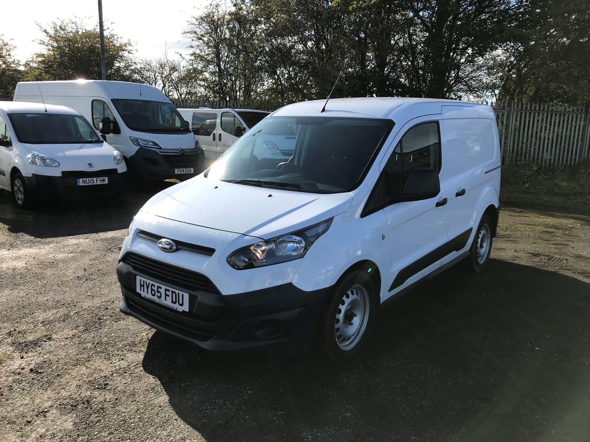 2015 Ford Transit Connect 1.6 Tdci 75Ps Van (HY65FDU) Image 3