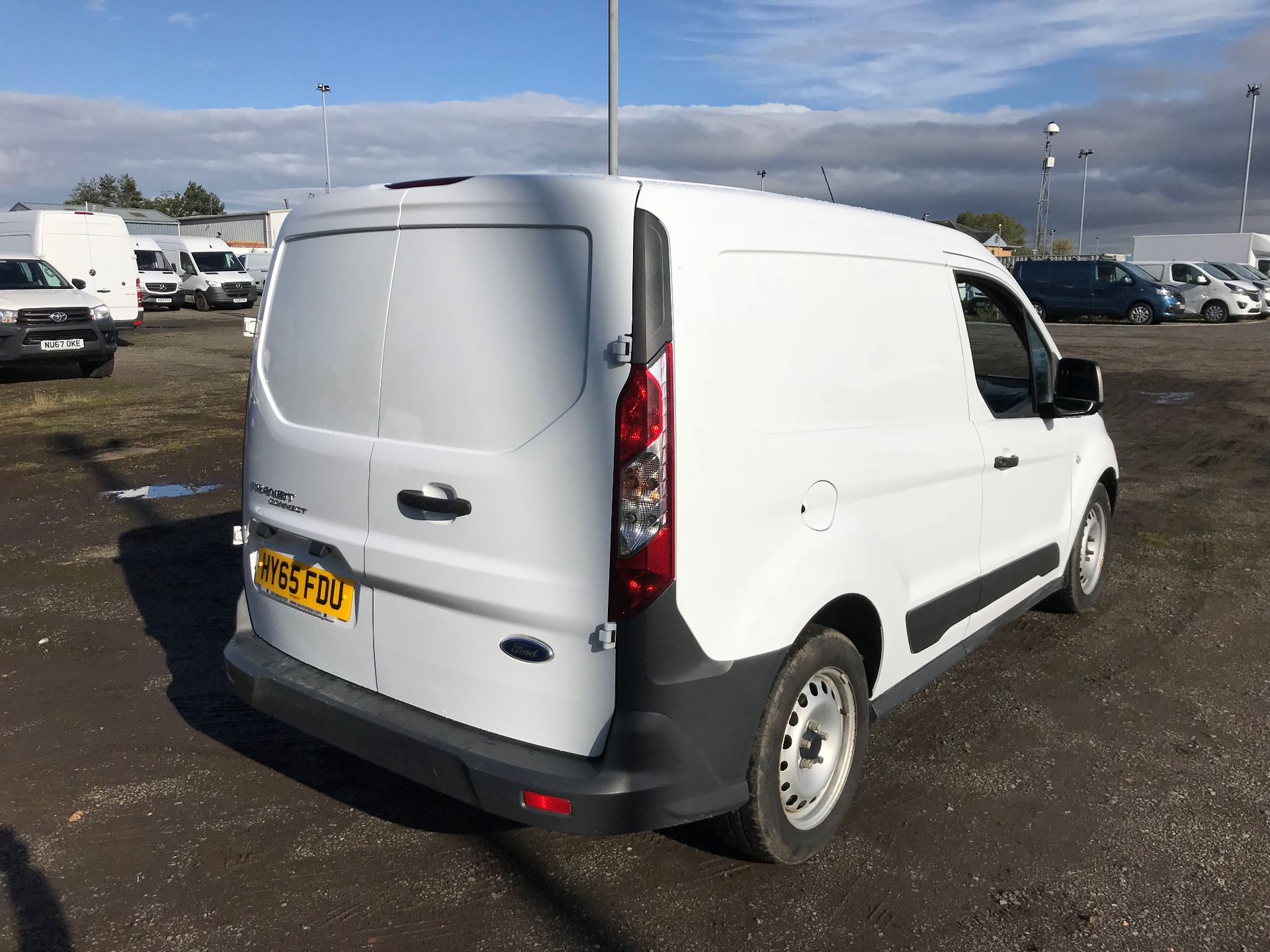2015 Ford Transit Connect 1.6 Tdci 75Ps Van (HY65FDU) Image 7