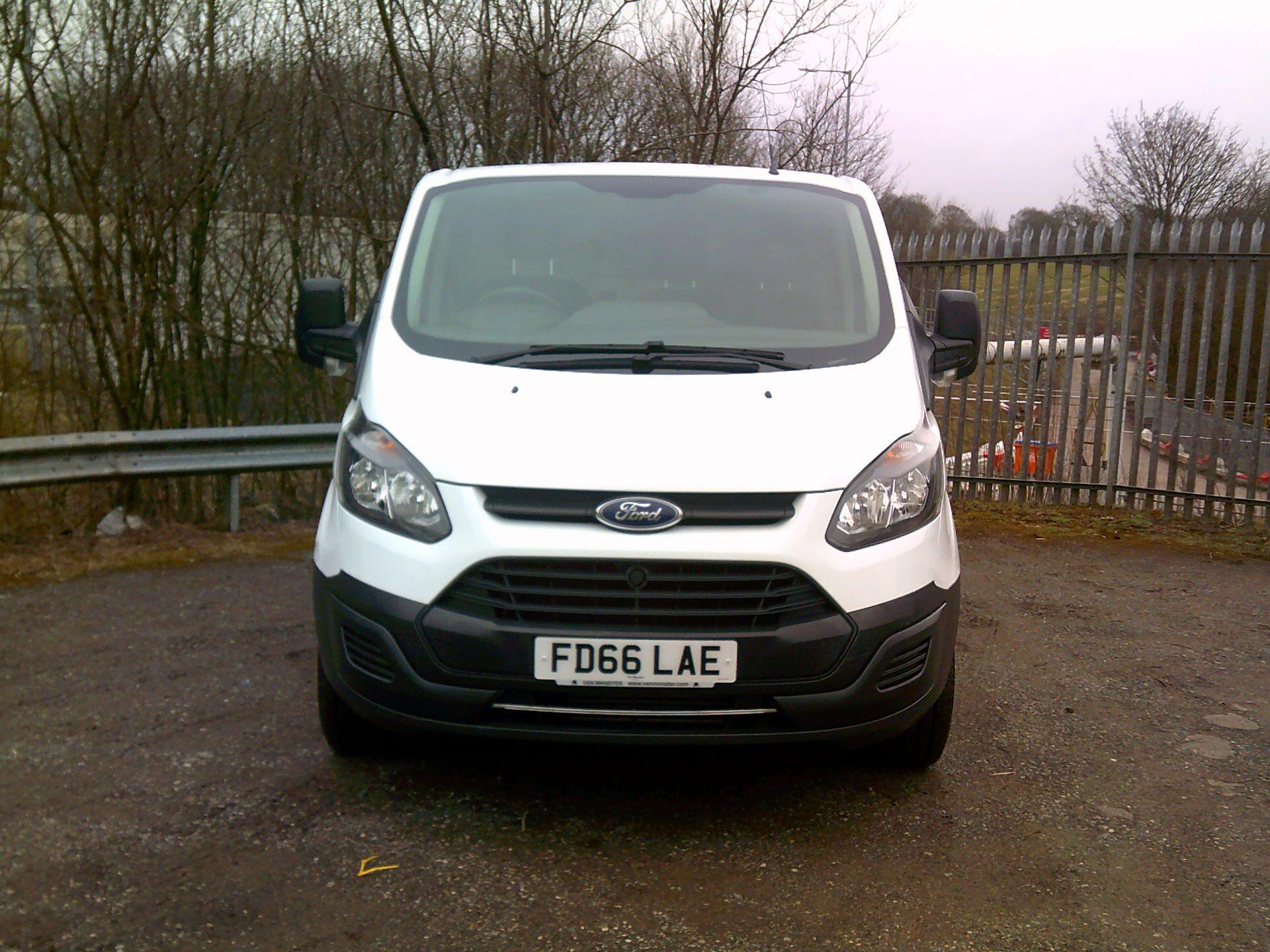 2016 Ford Transit Custom 2.0 Tdci 105Ps Low Roof Van L2 MWB Euro 6 (FD66LAE)   Van Monster