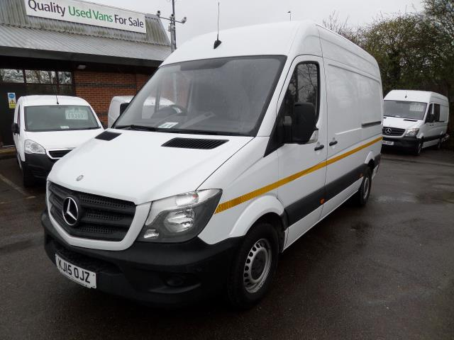 2015 Mercedes-Benz Sprinter 313 CDI MWB 3.5T High Roof EURO 5 (KJ15OJZ) Image 5
