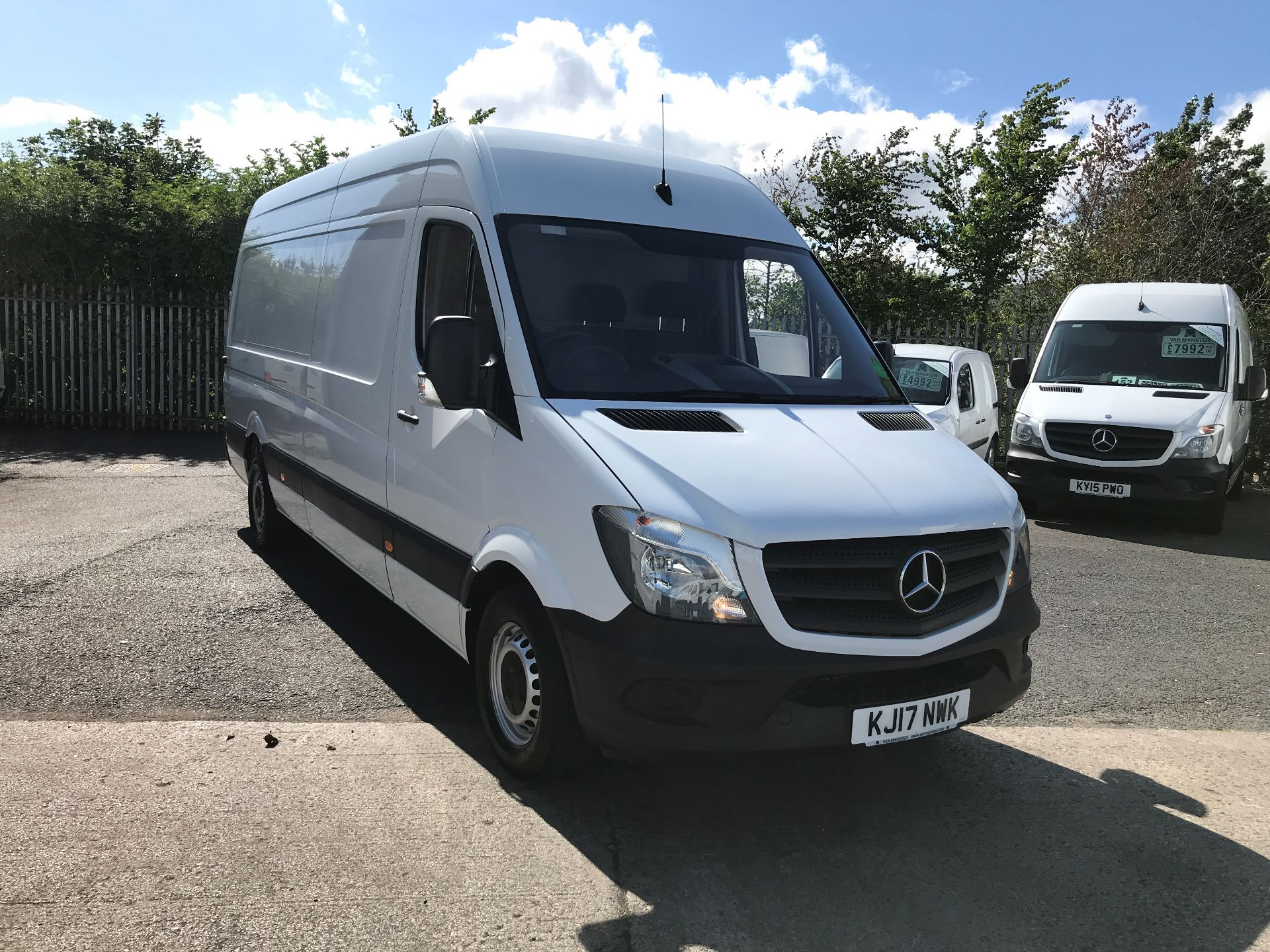 2017 Mercedes-Benz Sprinter 314CDI LWB HIGH ROOF 140PS EURO 6 (KJ17NWK)