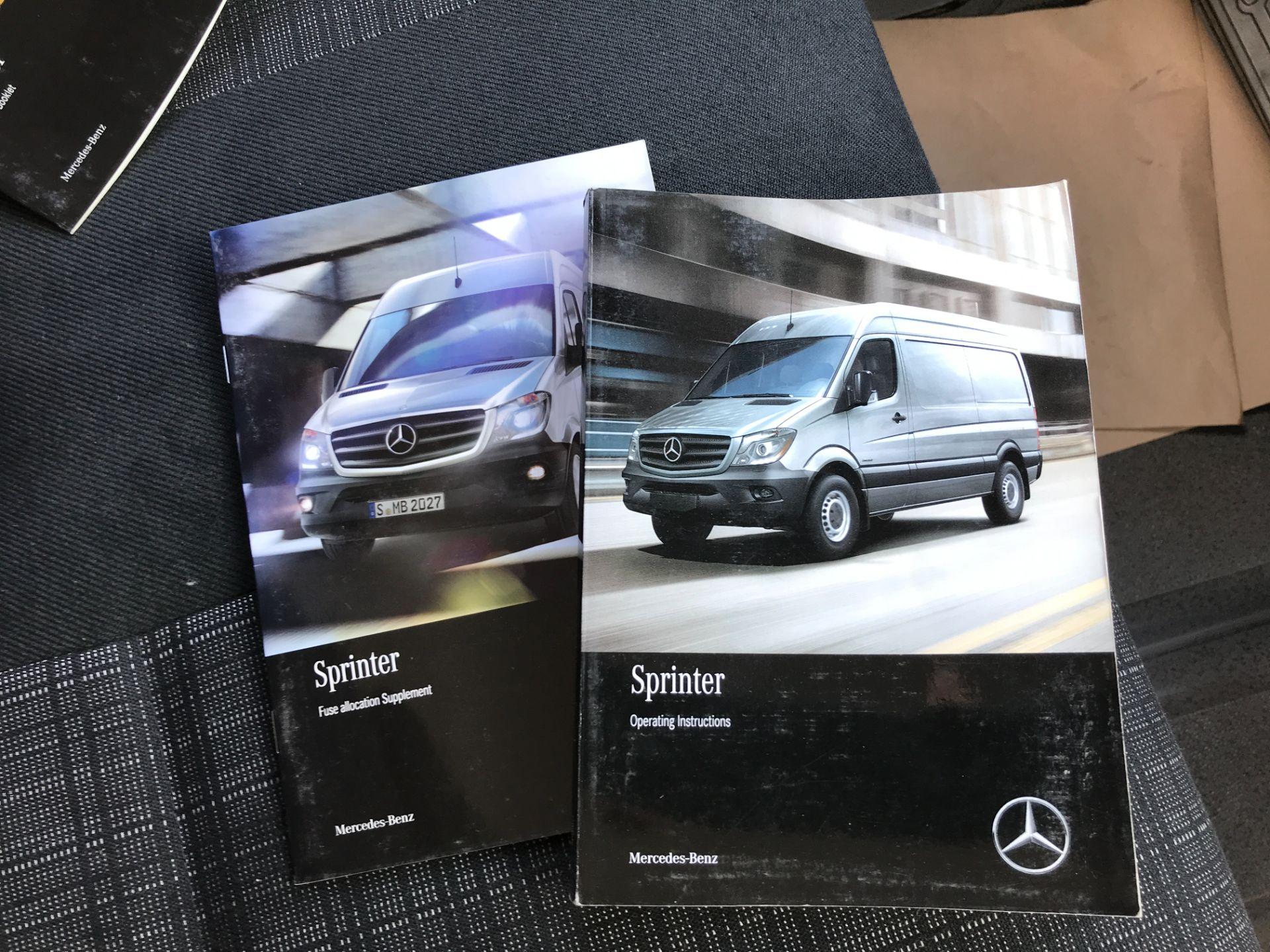 2017 Mercedes-Benz Sprinter 314CDI DOUBLE CAB TIPPER 140PS EURO 6 (KJ17NWR) Image 21