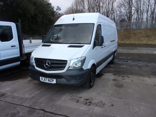 2017 Mercedes-Benz Sprinter 314CDi LWB High Roof Van (KJ17NZP) Image 2
