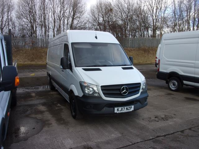2017 Mercedes-Benz Sprinter 314CDi LWB High Roof Van (KJ17NZP) Image 1