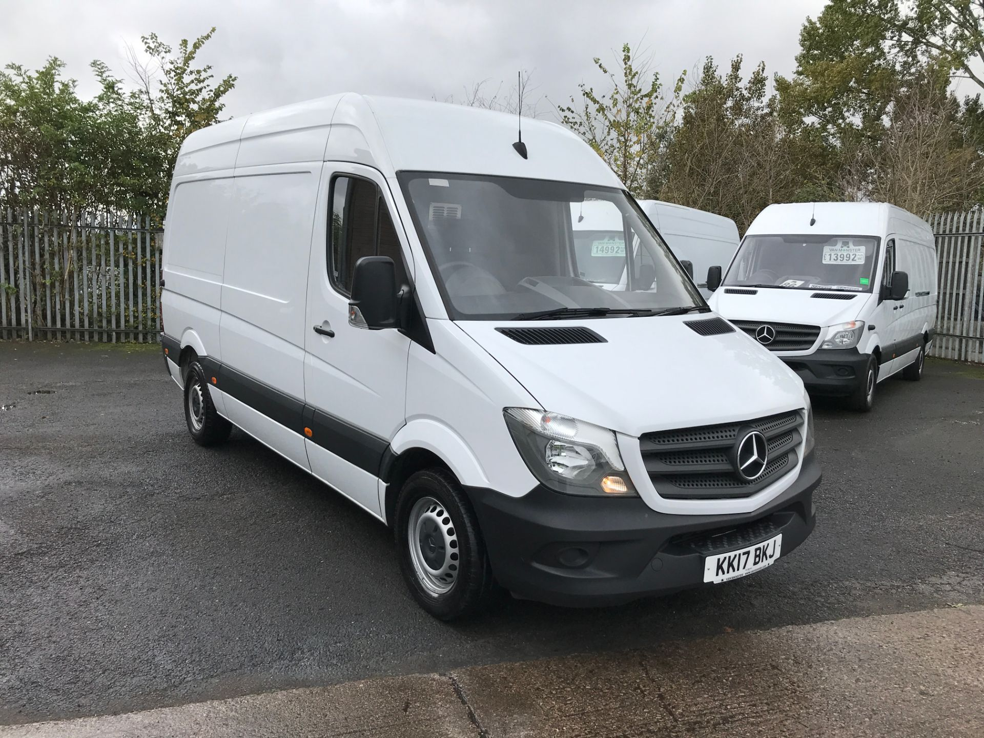2017 Mercedes-Benz Sprinter 314CDI MWB HIGH ROOF 140PS EURO 6 (KK17BKJ)