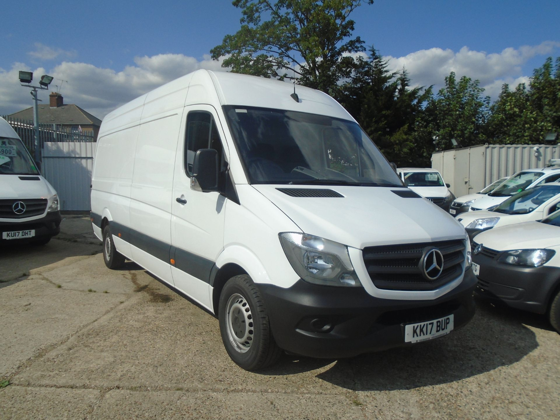 2017 Mercedes-Benz Sprinter 3.5T High Roof Van (KK17BUP)