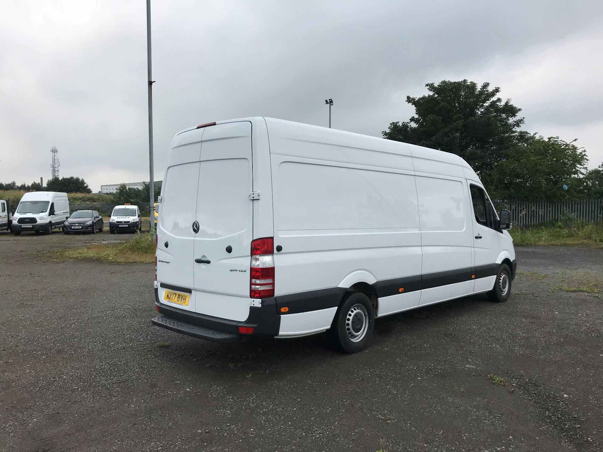 2017 Mercedes-Benz Sprinter 3.5T High Roof Van (KK17BVH) Image 4