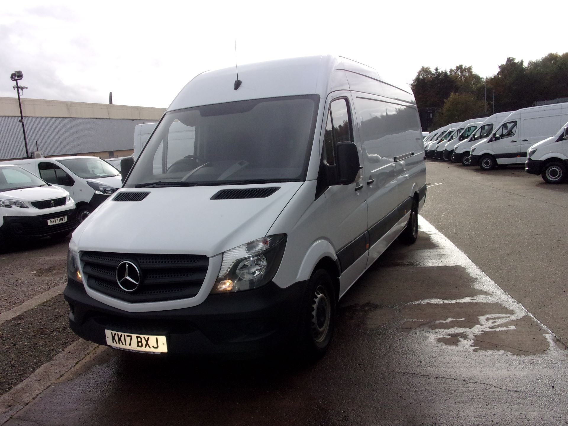 2017 Mercedes-Benz Sprinter 314 CDI LWB HIGH ROOF EURO 6 (KK17BXJ) Image 3
