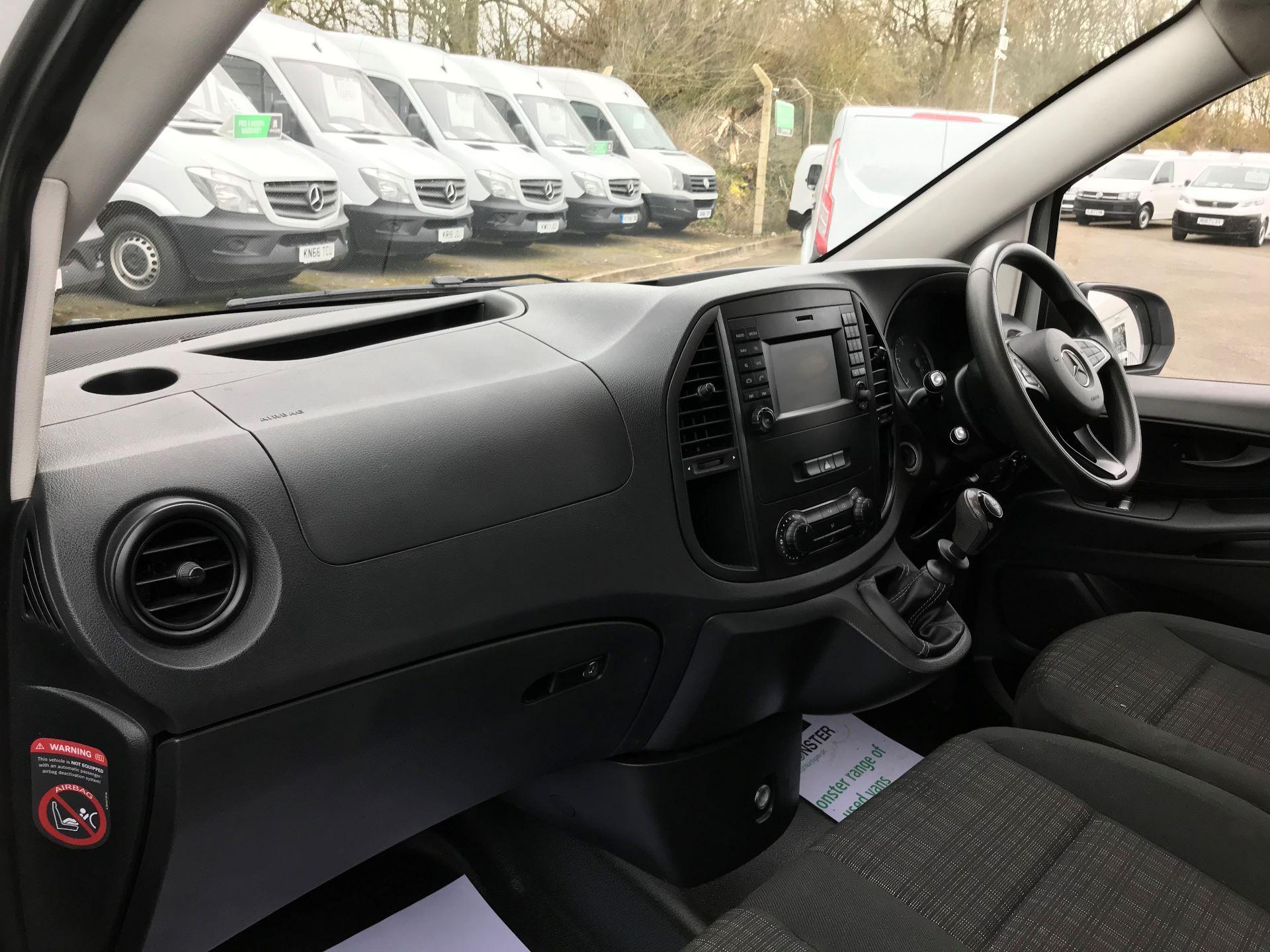 2017 Mercedes-Benz Vito LONG 111CDI VAN EURO 6  (KK17JXV) Image 16