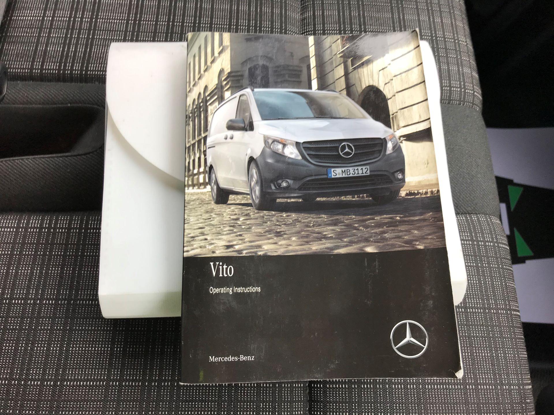 2017 Mercedes-Benz Vito LONG 111CDI VAN EURO 6  (KK17JXV) Image 28
