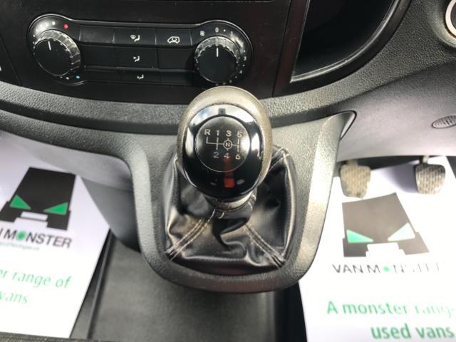 2017 Mercedes-Benz Vito 111Cdi Van LWB Euro 6 (KK17JXZ) Image 23