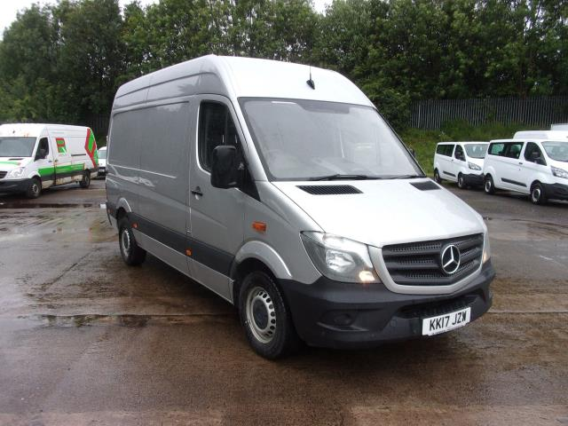 2017 Mercedes-Benz Sprinter 314 CDI MWB HIGH ROOF VAN EURO 6 (KK17JZW)
