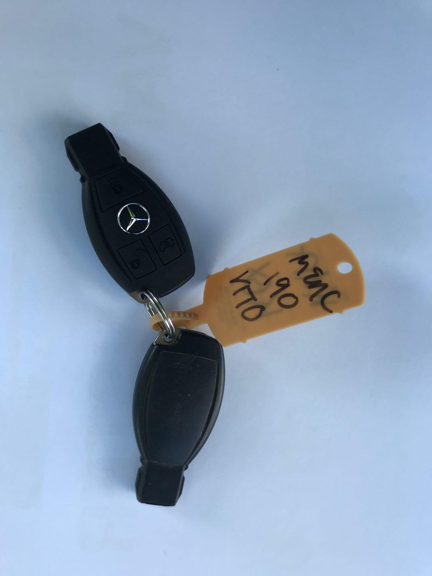 2017 Mercedes-Benz Vito LONG 111CDI VAN EURO 5/6  (KK17KBX) Image 39