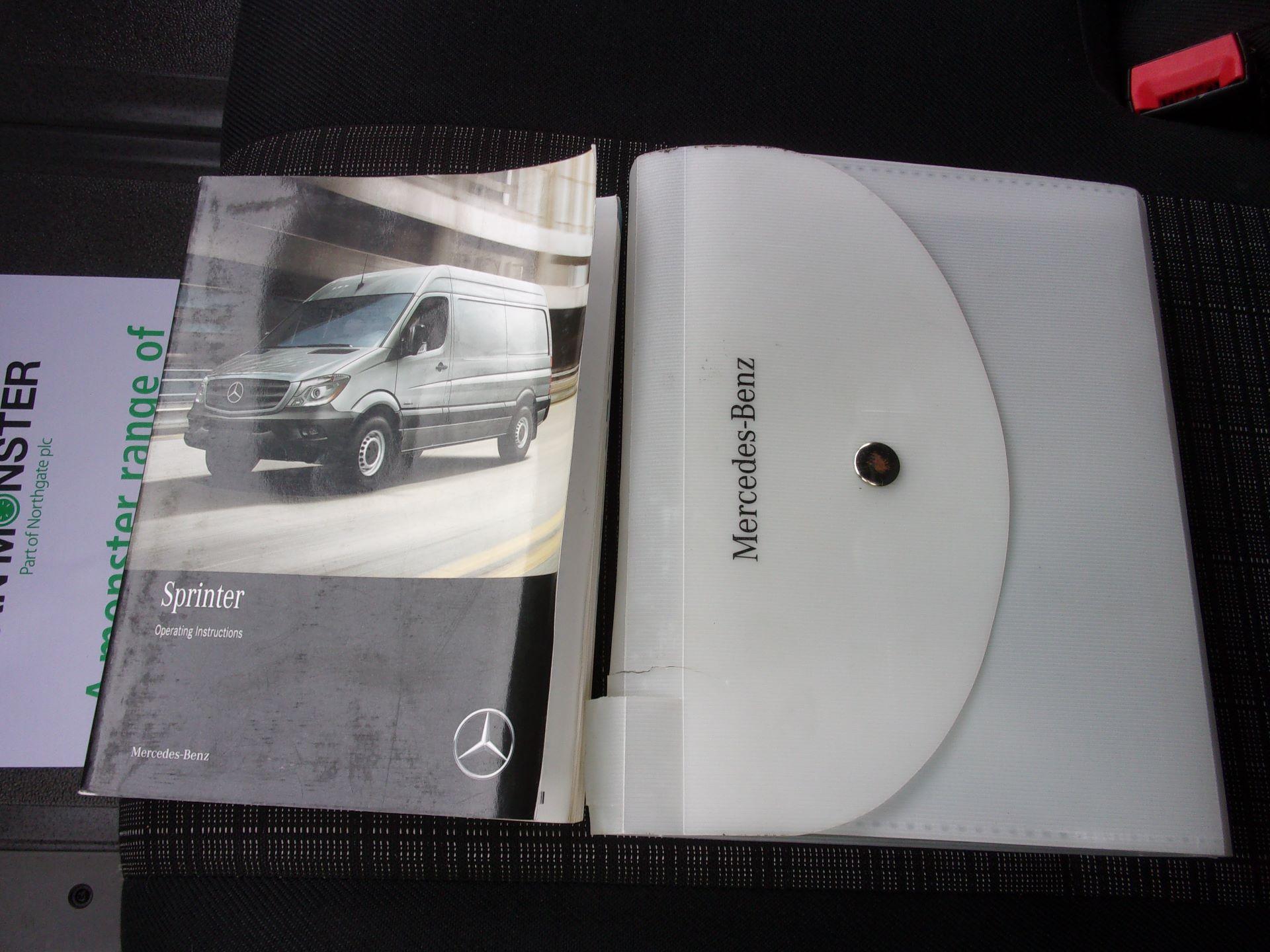 2017 Mercedes-Benz Sprinter 314 CDI MWB HIGH ROOF VAN EURO 6 (KK17KBZ) Image 22
