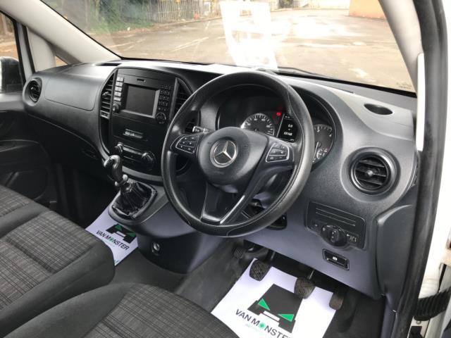 2017 Mercedes-Benz Vito 111Cdi Van LWB Euro 6 (KK17KDZ) Image 11